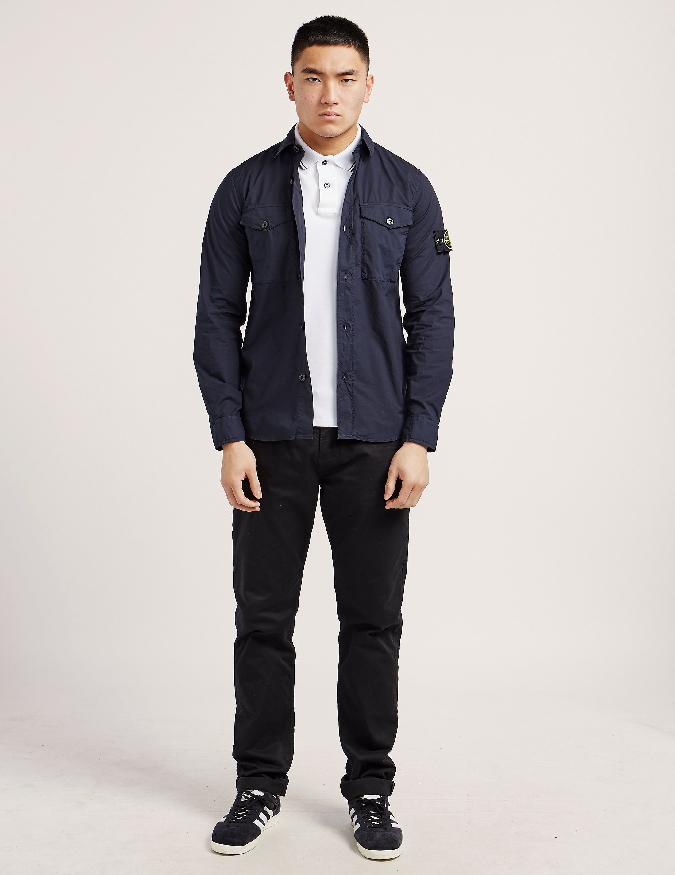Stone Island Stretch Long Sleeve Shirt