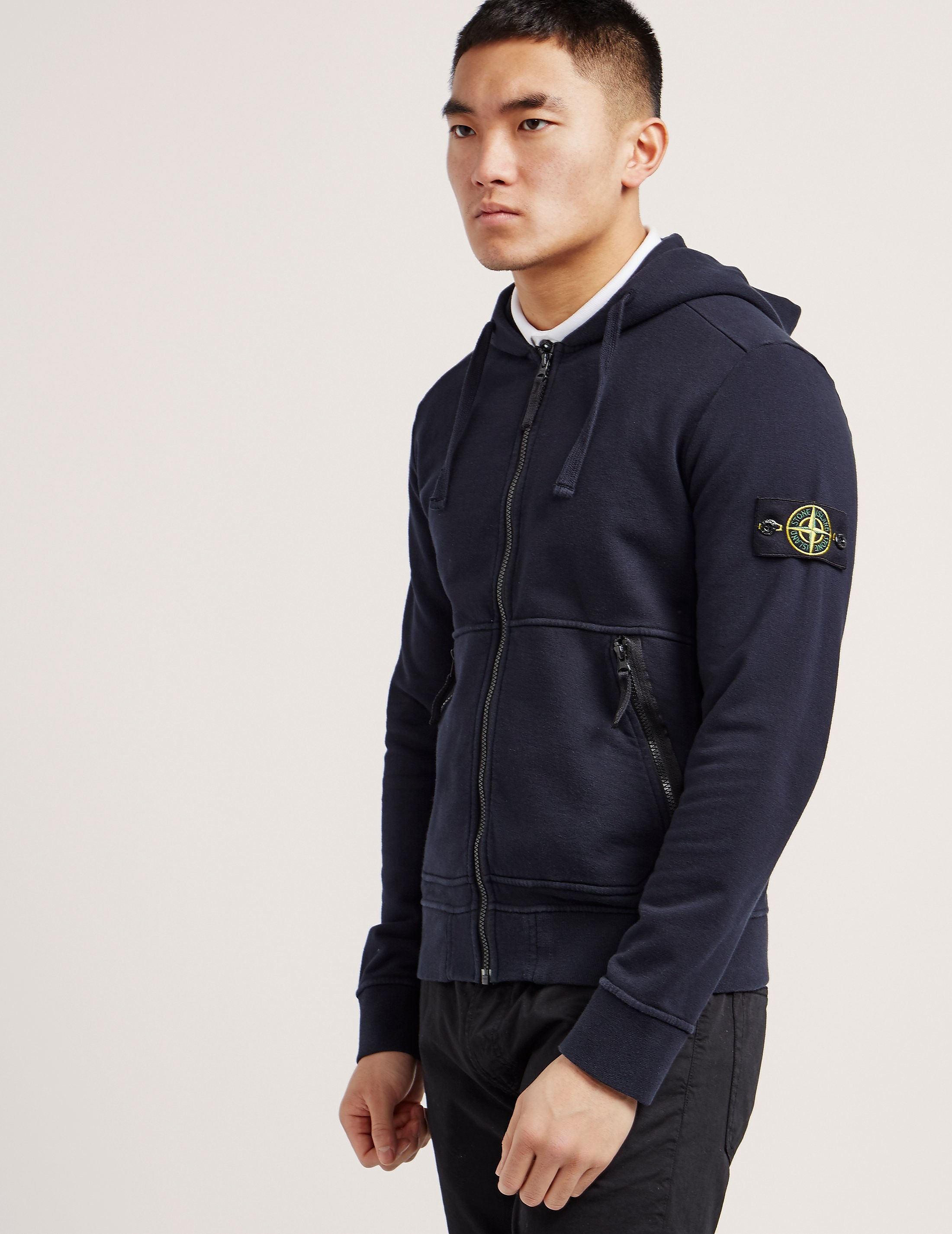 Stone Island Basic Zip Up Hoody
