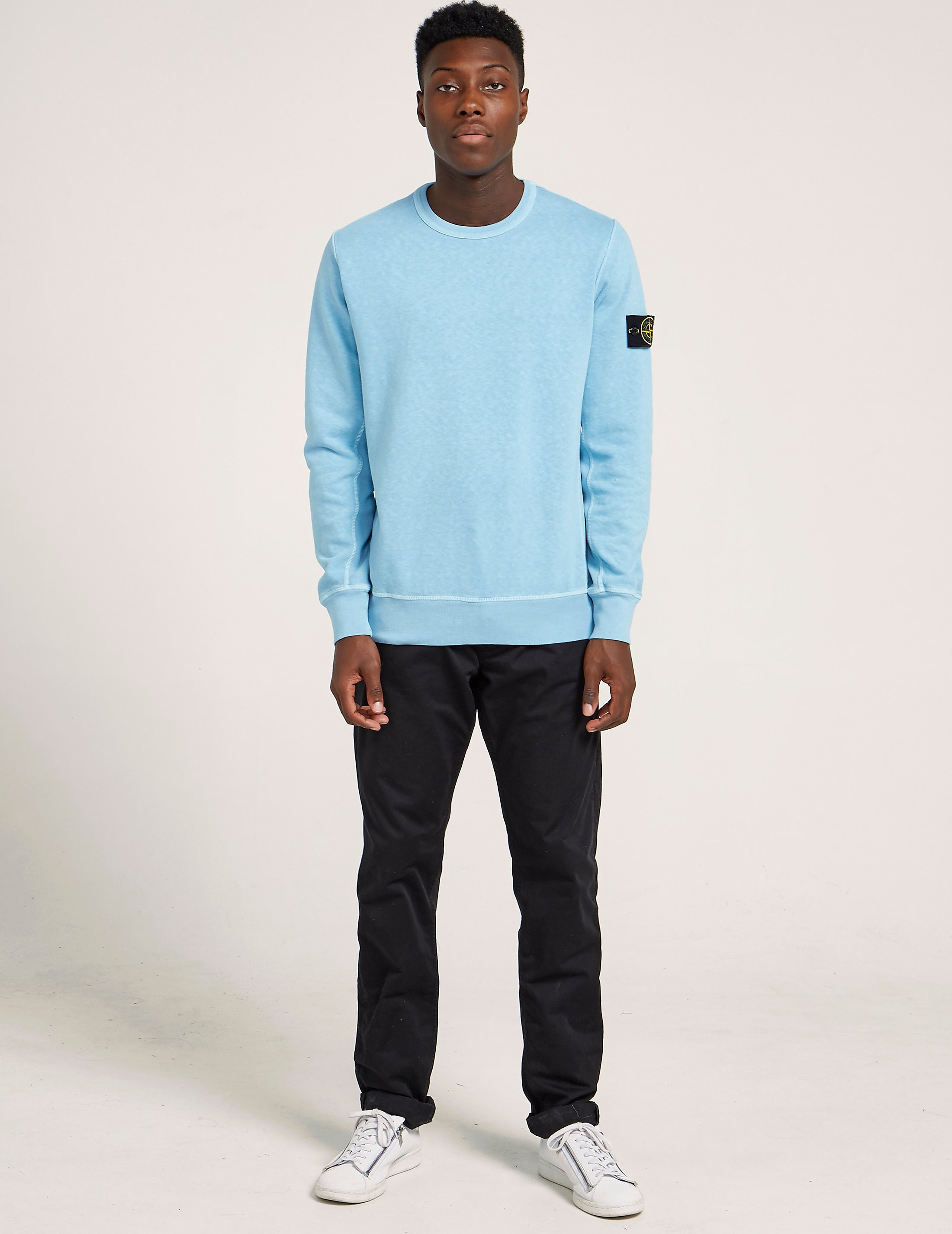Stone Island Slub Cotton Sweatshirt