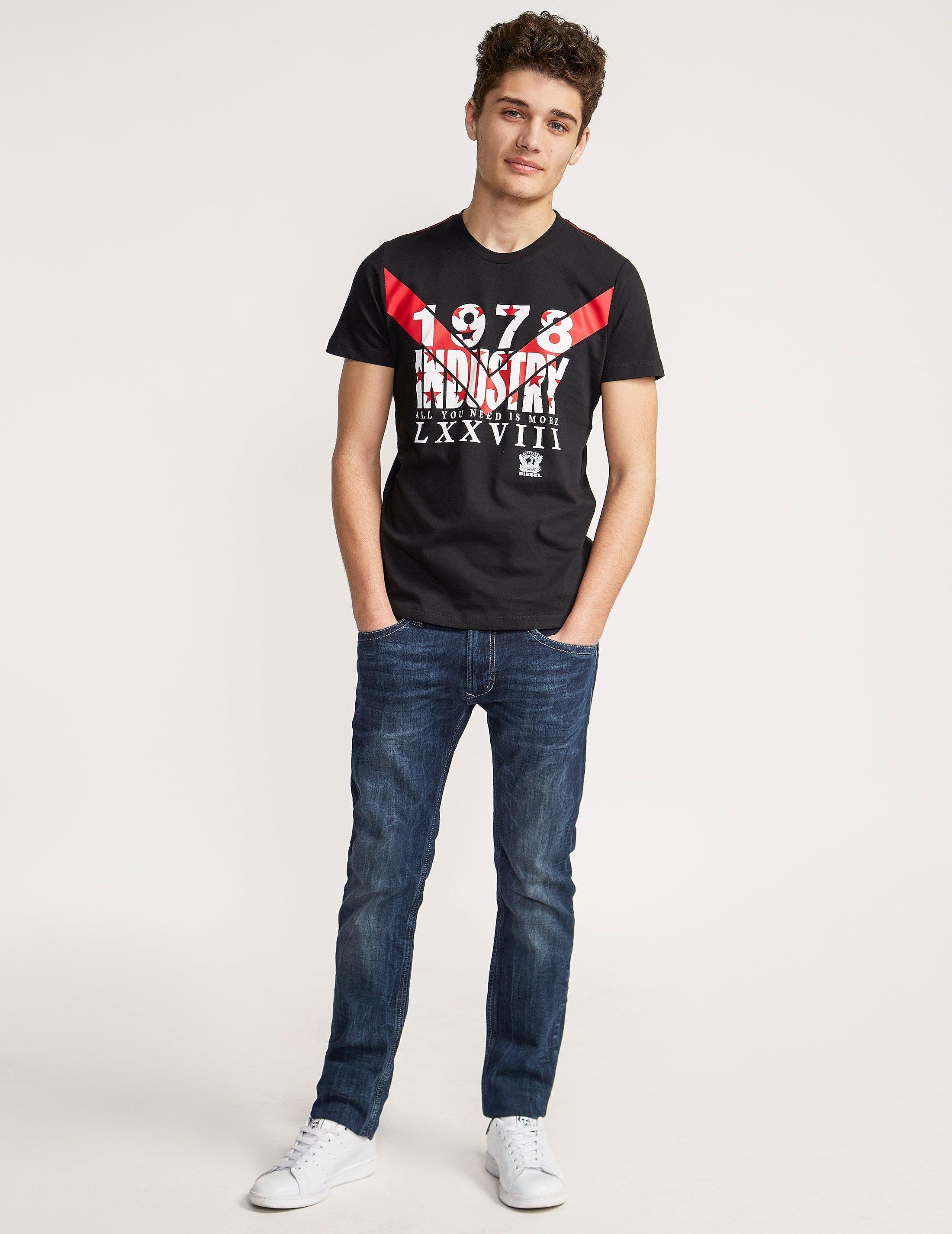 Diesel Industry Short Sleeve T-Shirt