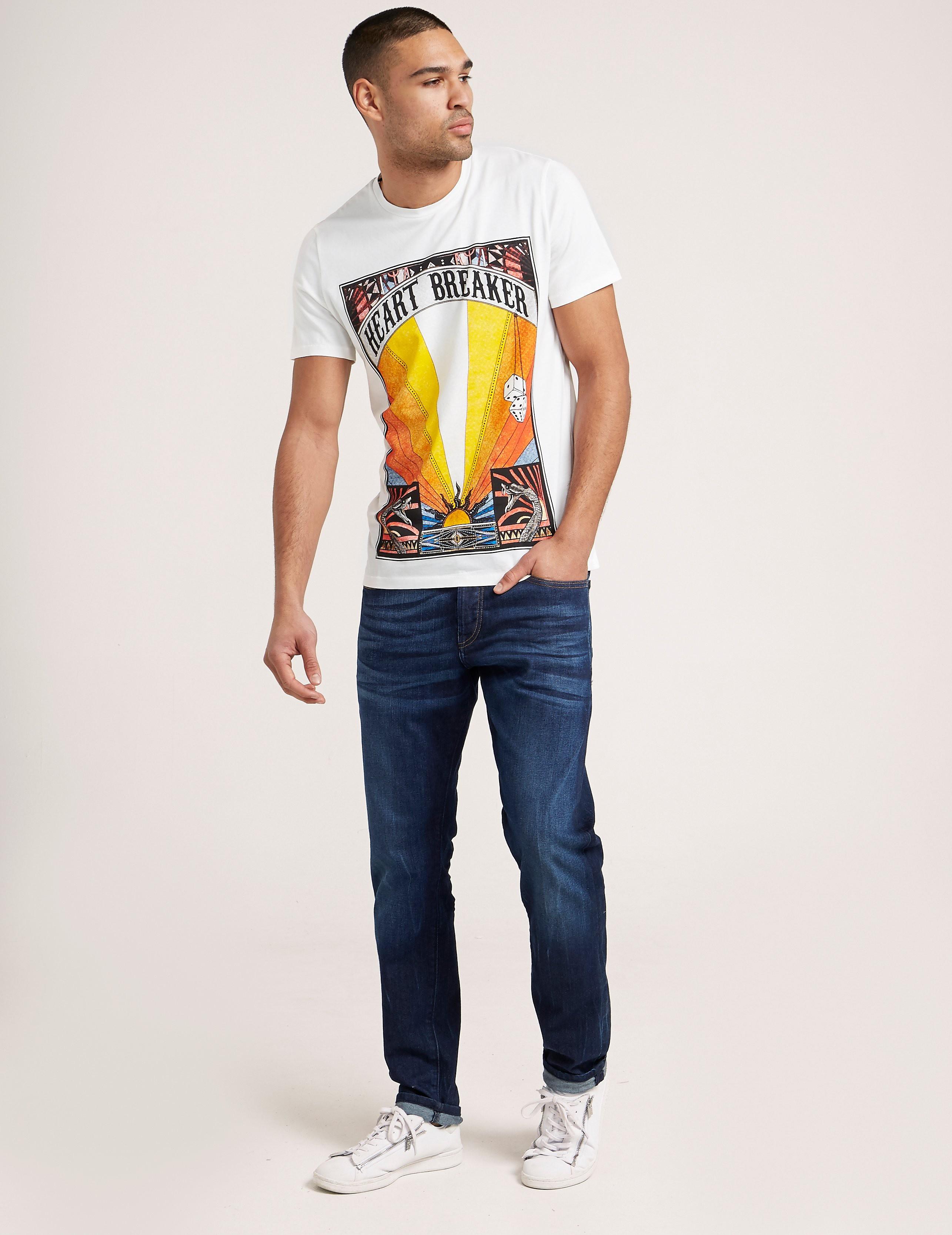 Just Cavalli Heart Breaker T-Shirt