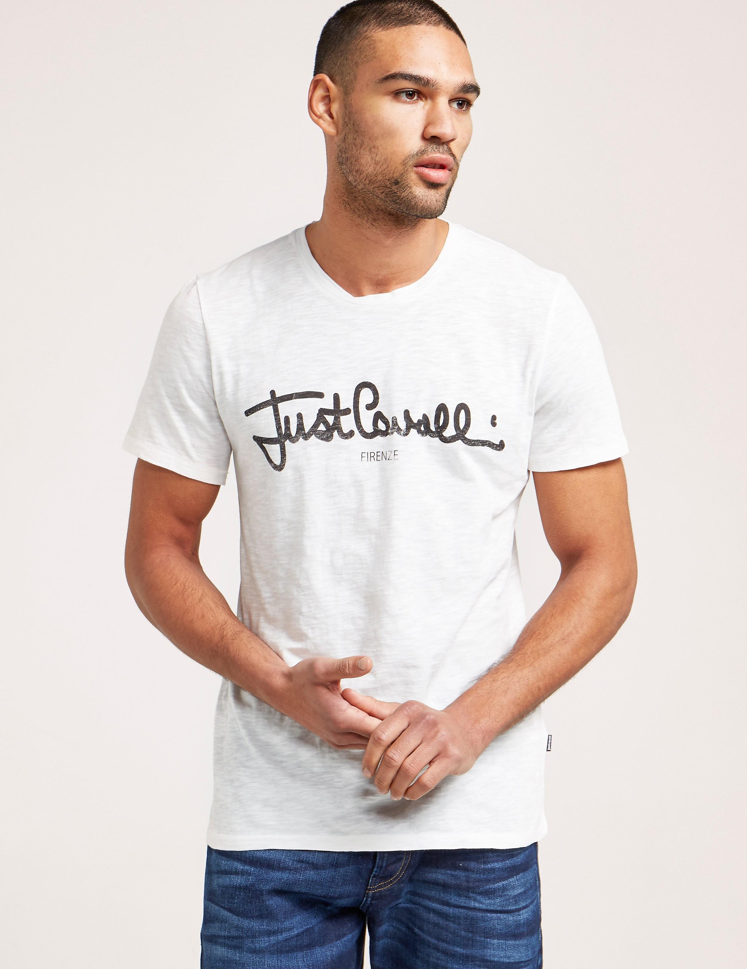 Just Cavalli Script Logo Short Sleeve T-Shirt