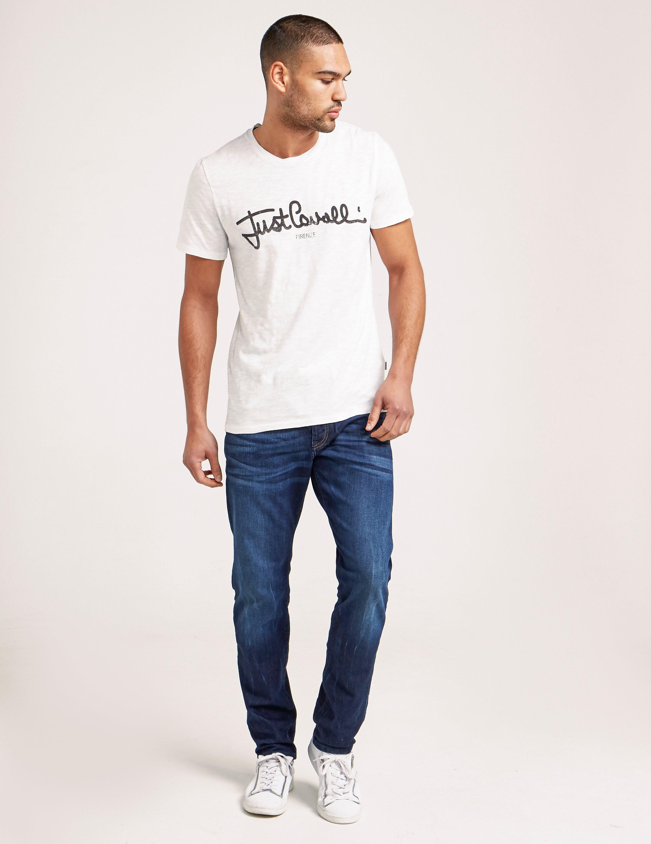 Just Cavalli Script Logo T-Shirt