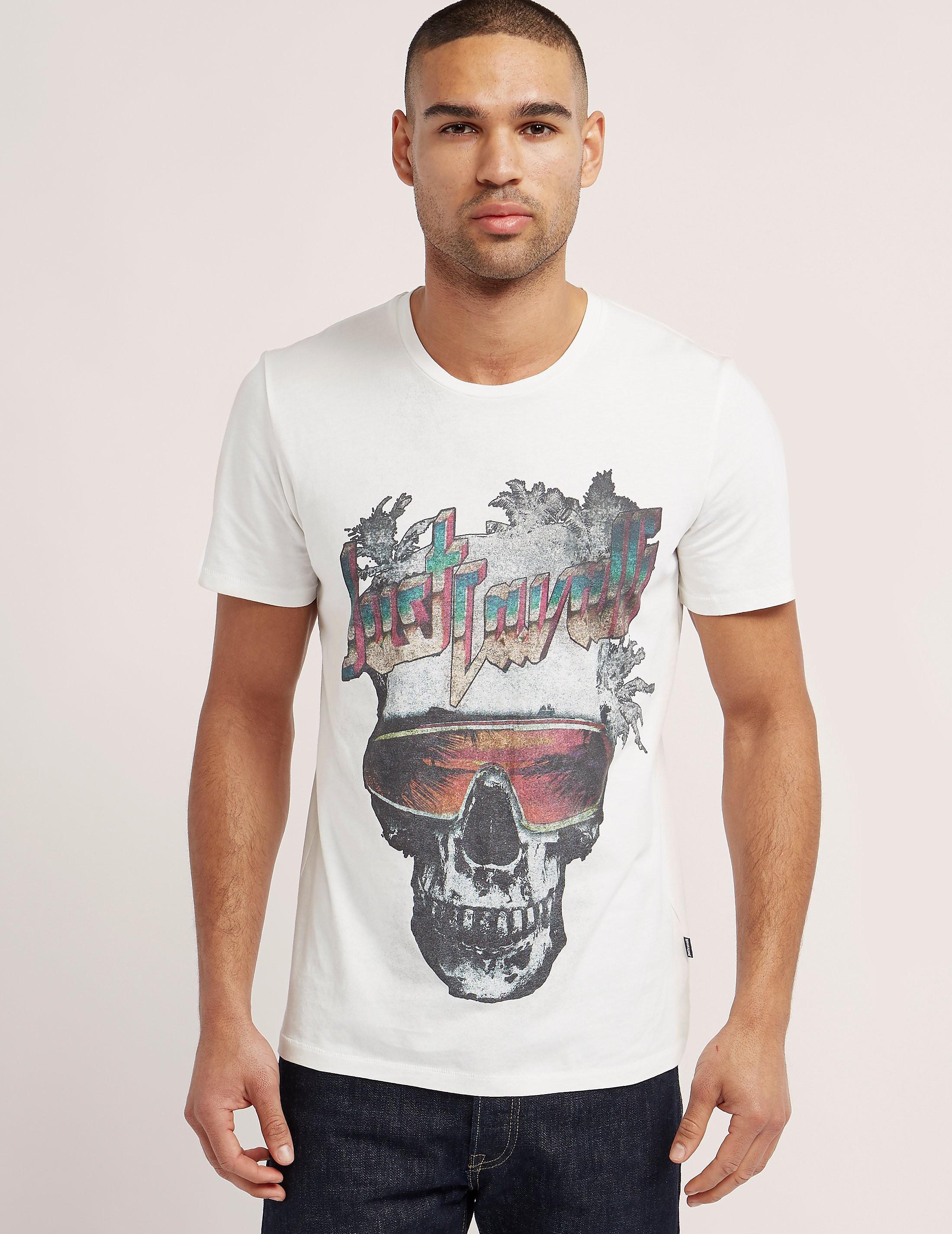 Just Cavalli Skull Short Sleeve T-Shirt