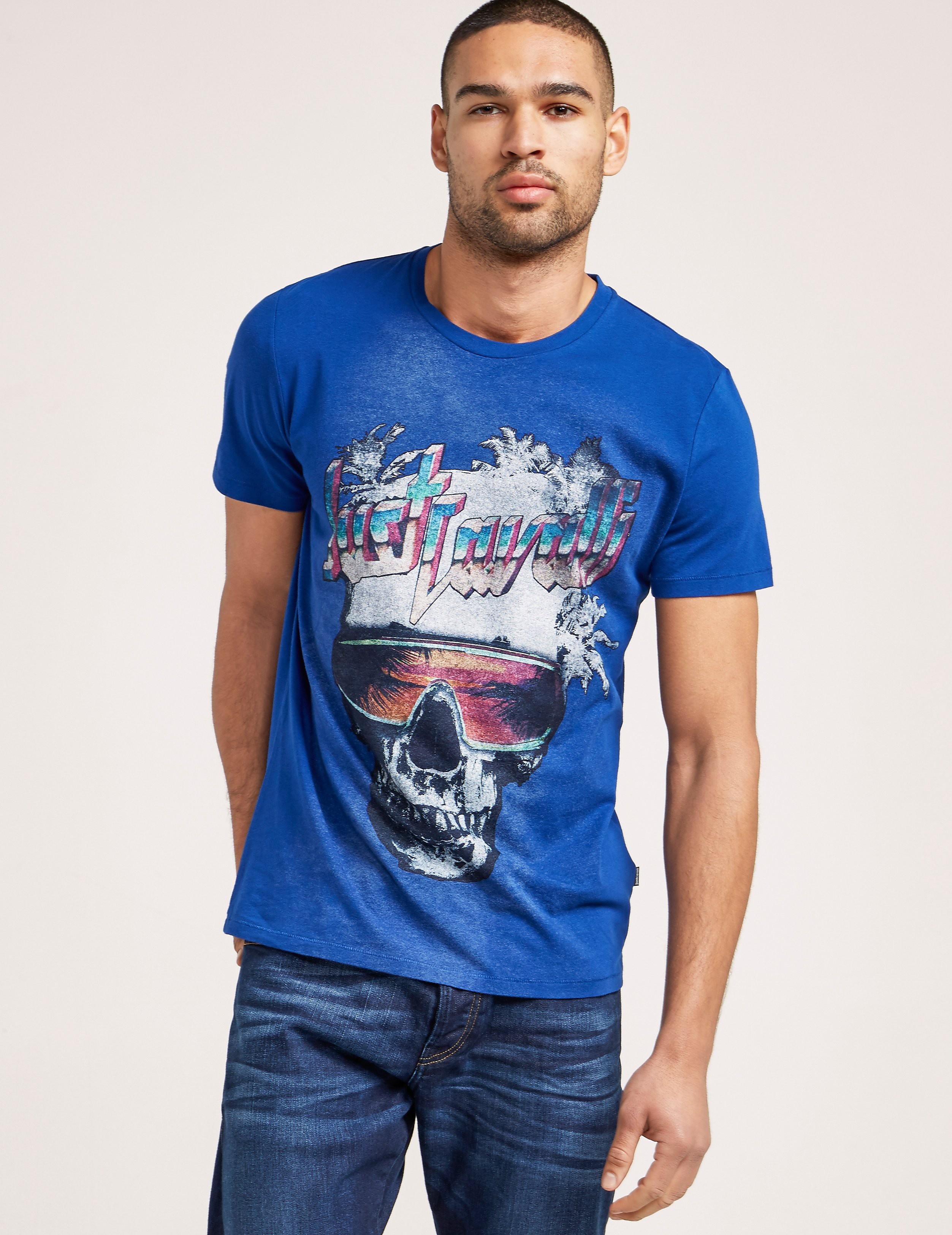 Just Cavalli Skull T-Shirt