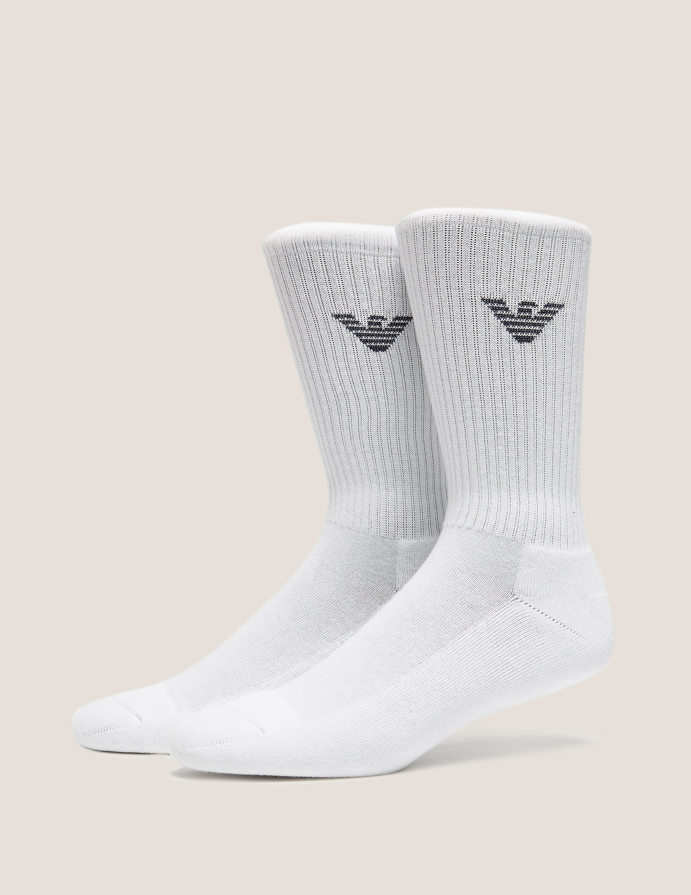 Emporio Armani 2 Pack Eagle Socks