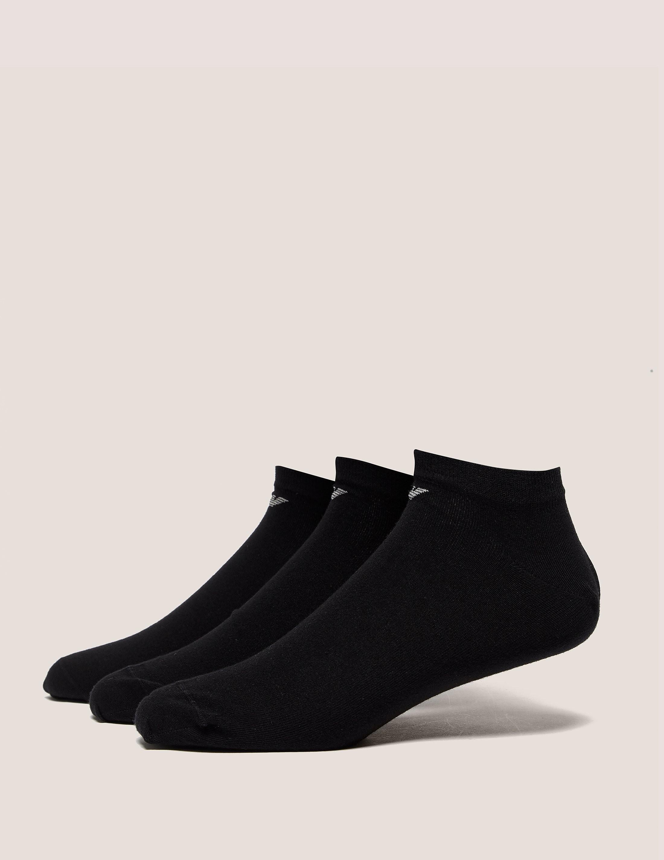 Emporio Armani 3-Pack Trainer Sock