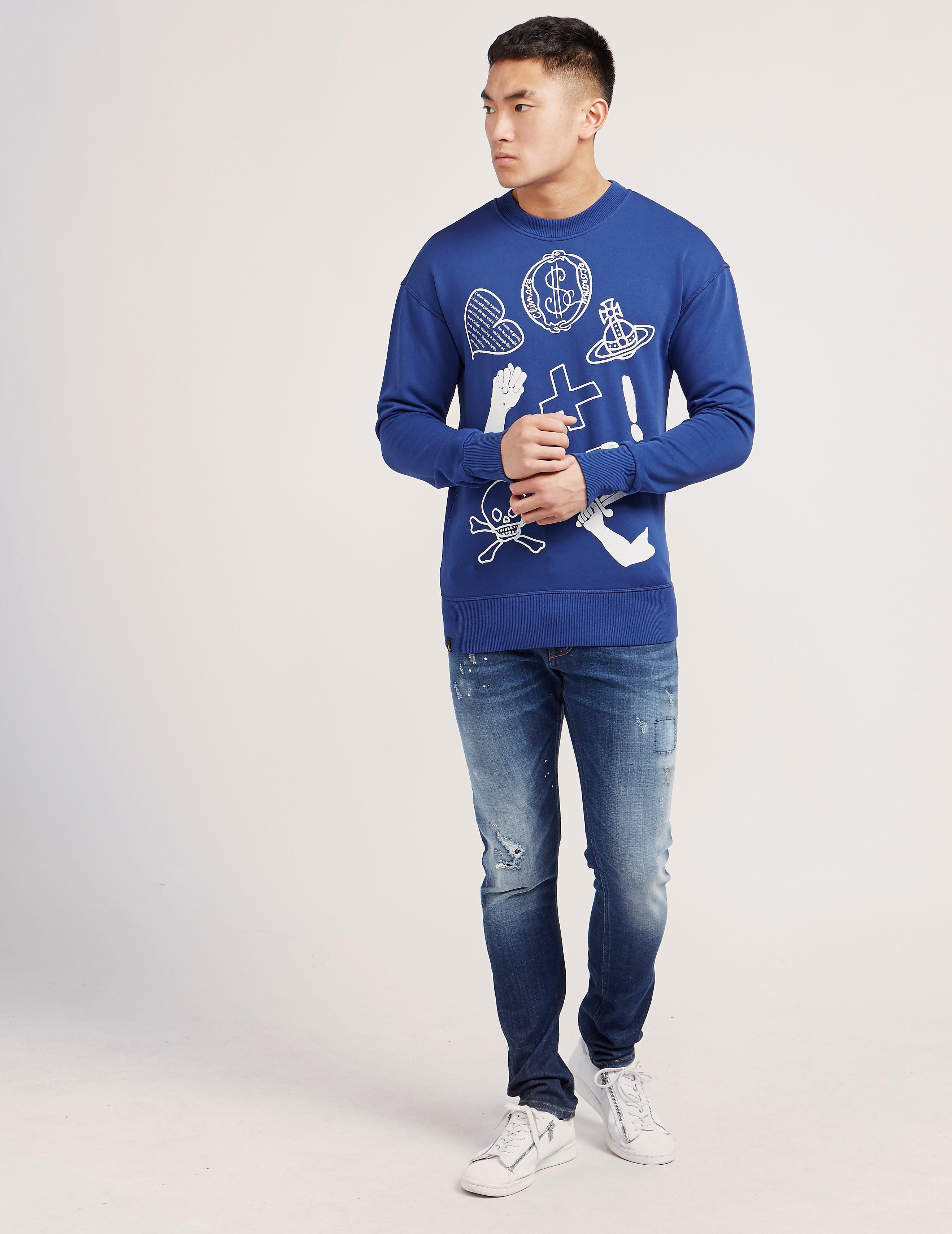 Vivienne Westwood Symbols Sweatshirt