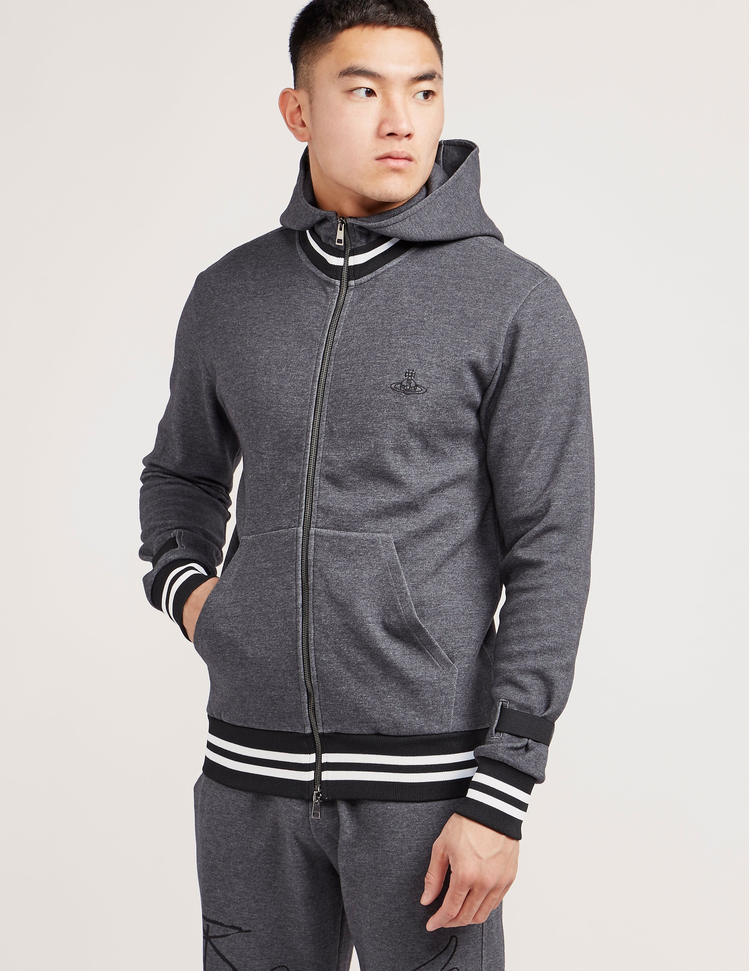 Vivienne Westwood Worker Hooded Track Top