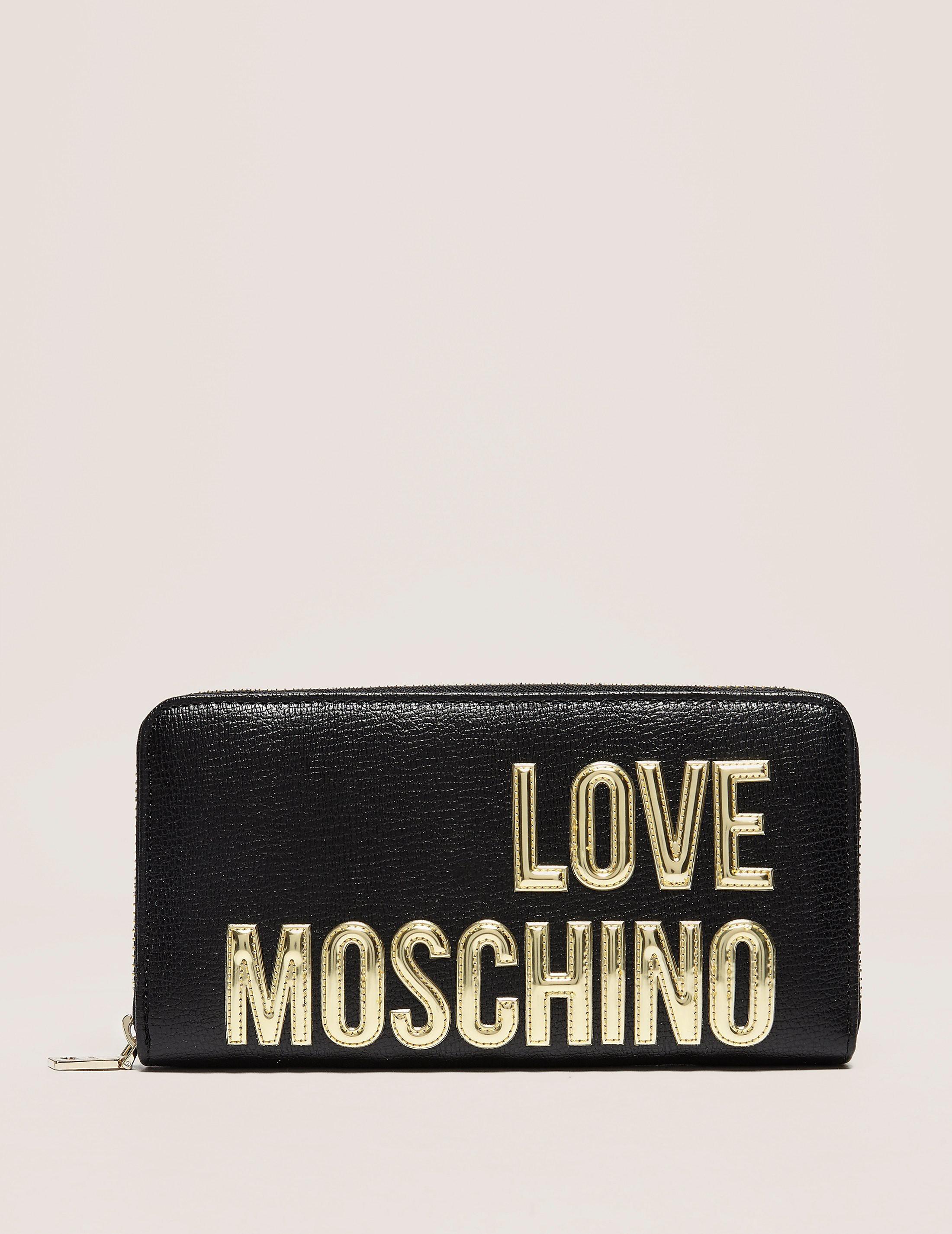 Love Moschino Gold Logo Purse