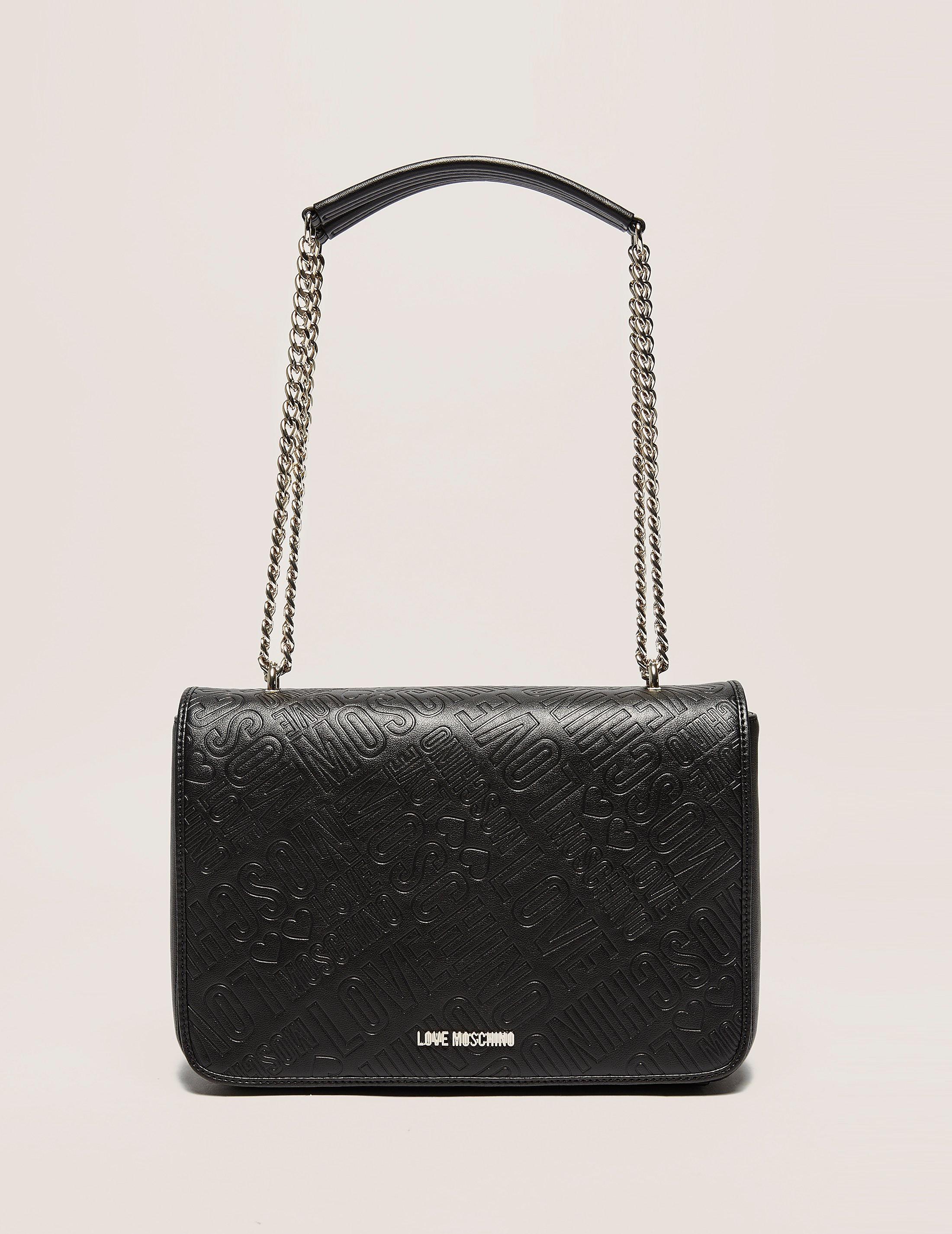 Love Moschino Embossed Shoulder Bag