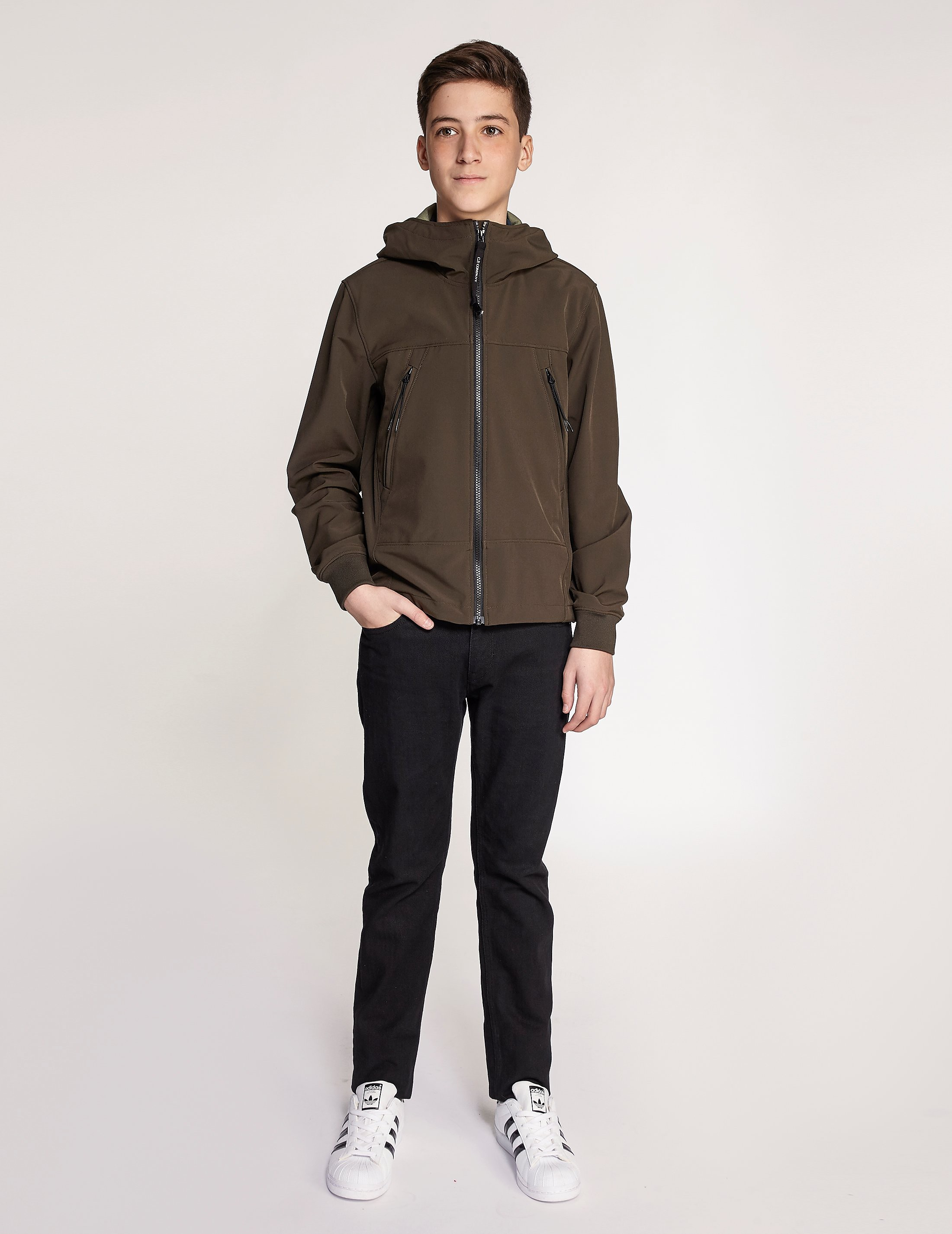CP Company Soft Shell Goggle Jacket
