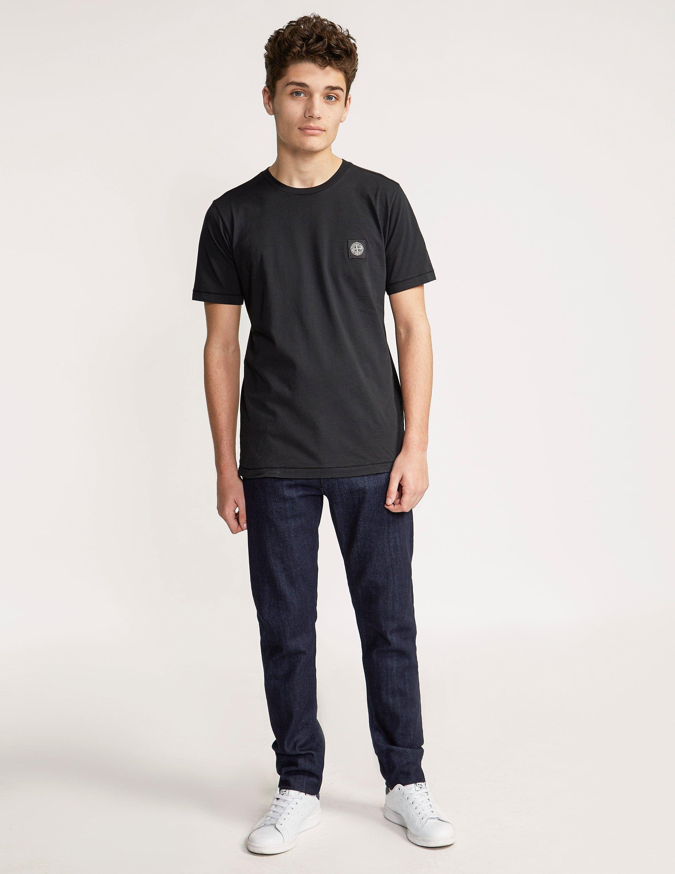 Stone Island Patch Logo Short Sleeve T-Shirt