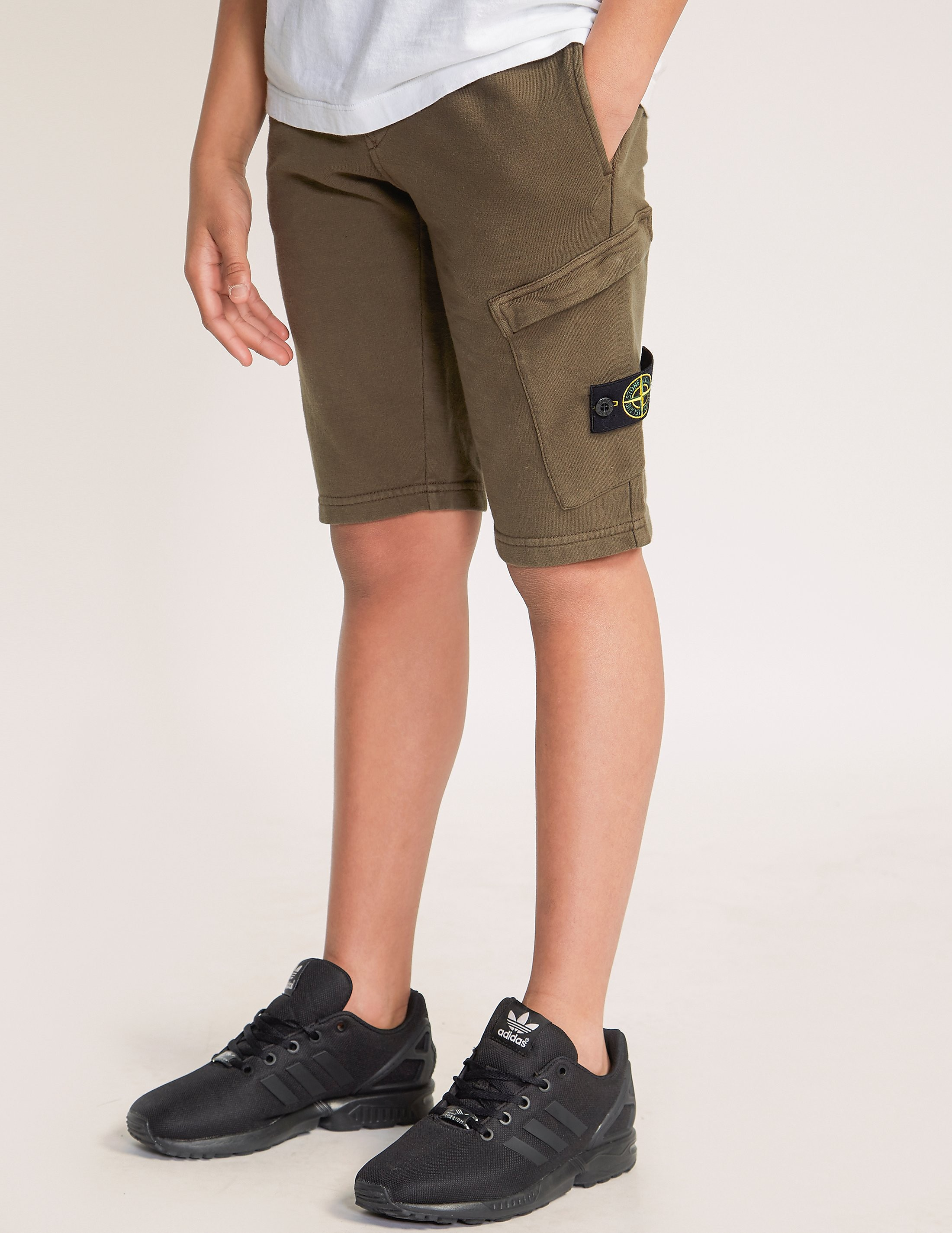 Stone Island Badge Shorts