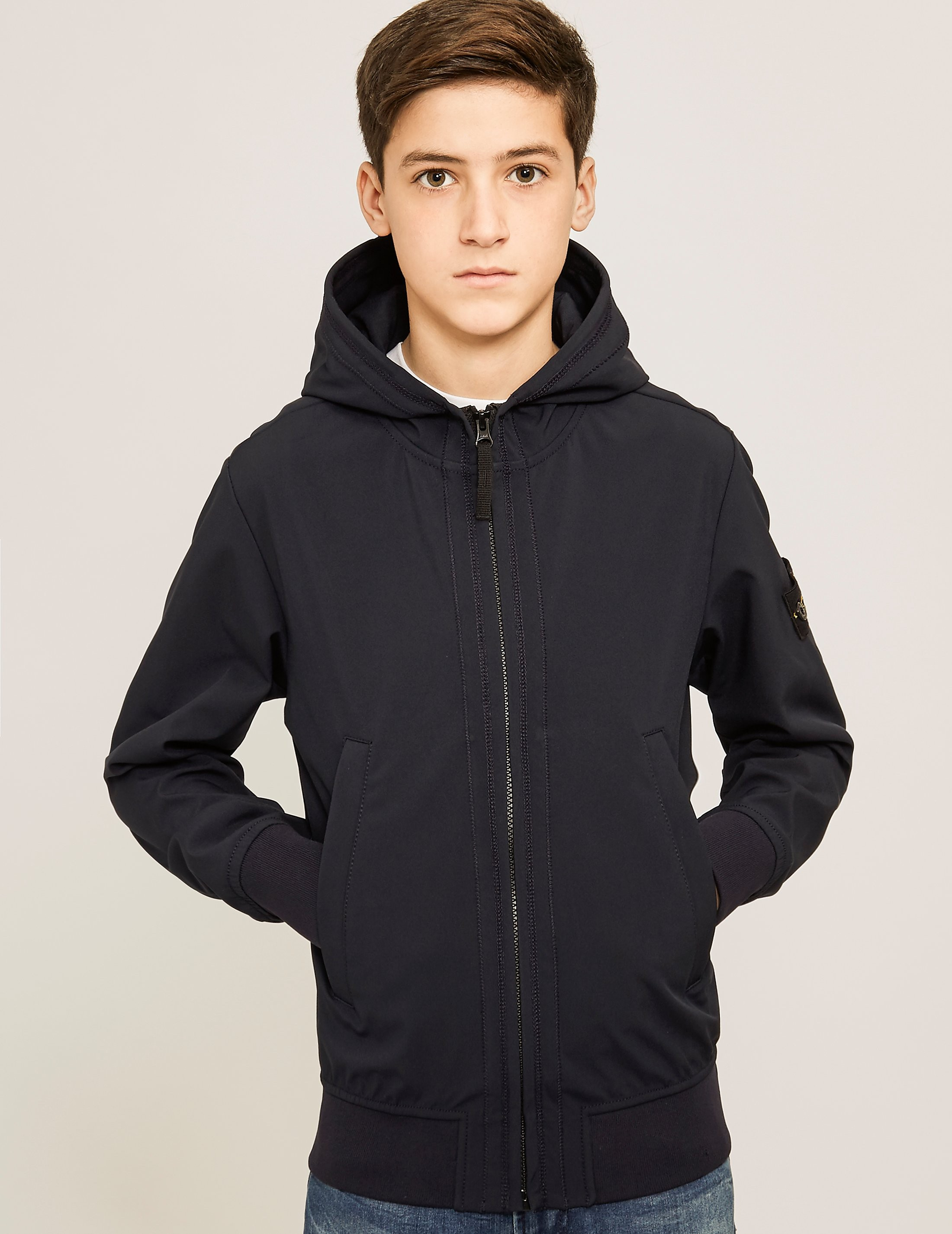 Stone Island Softshell Hooded Jacket