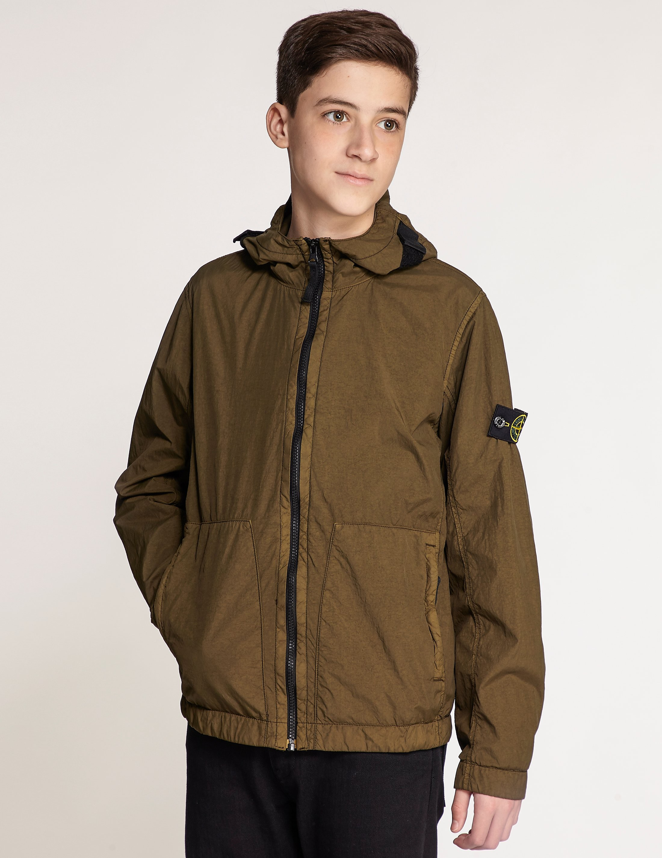 Stone Island Nylon Hooded Jacket
