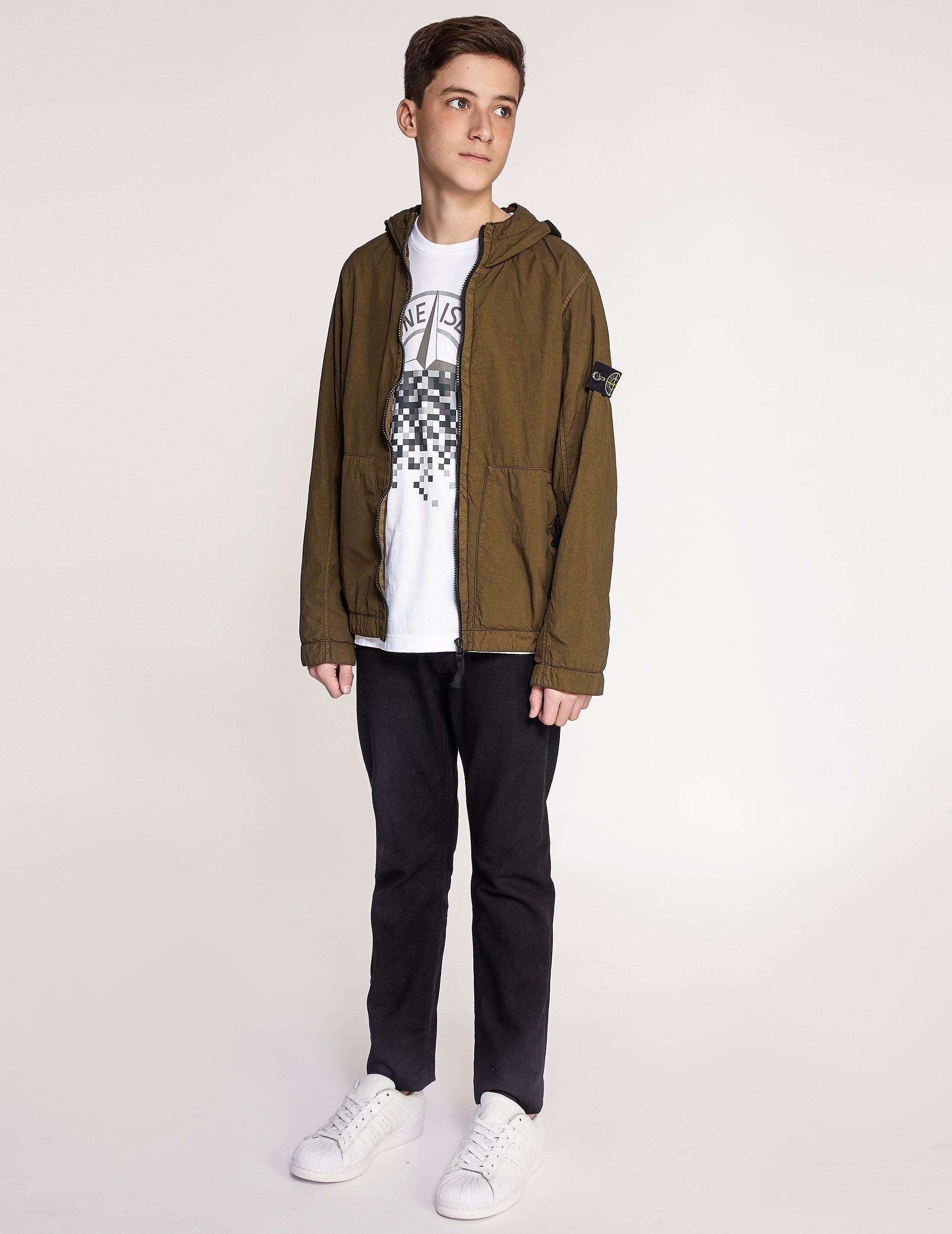 Stone Island Nylon Hooded Jacket