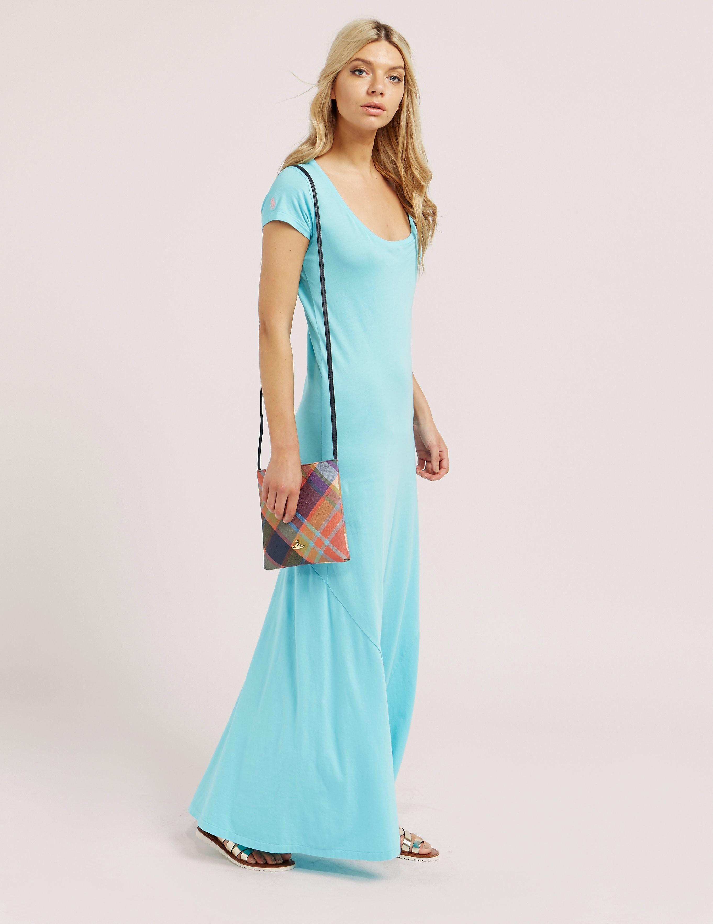 Polo Ralph Lauren Scoopneck Maxi Dress