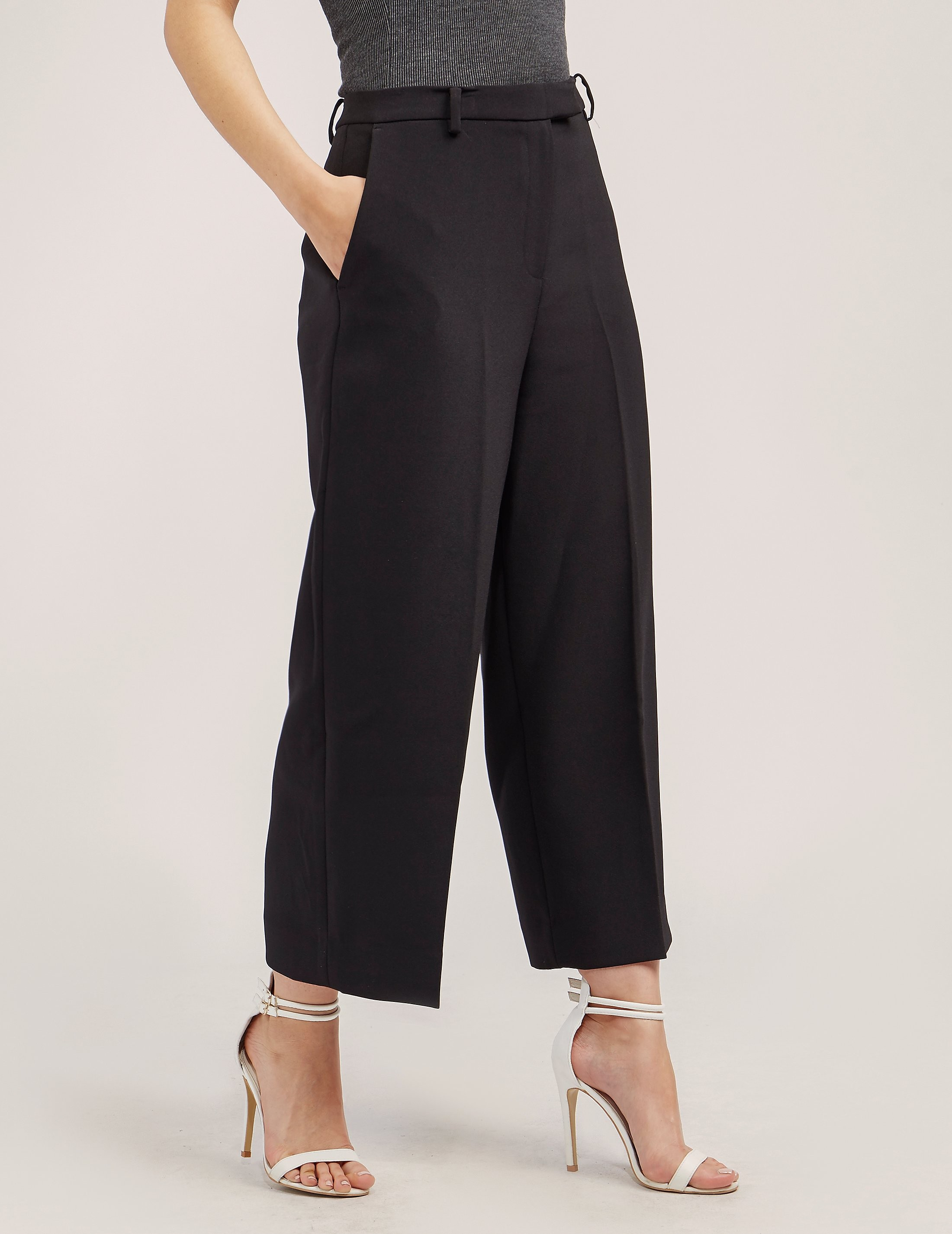 Michael Kors Wide Leg Cropped Trousers
