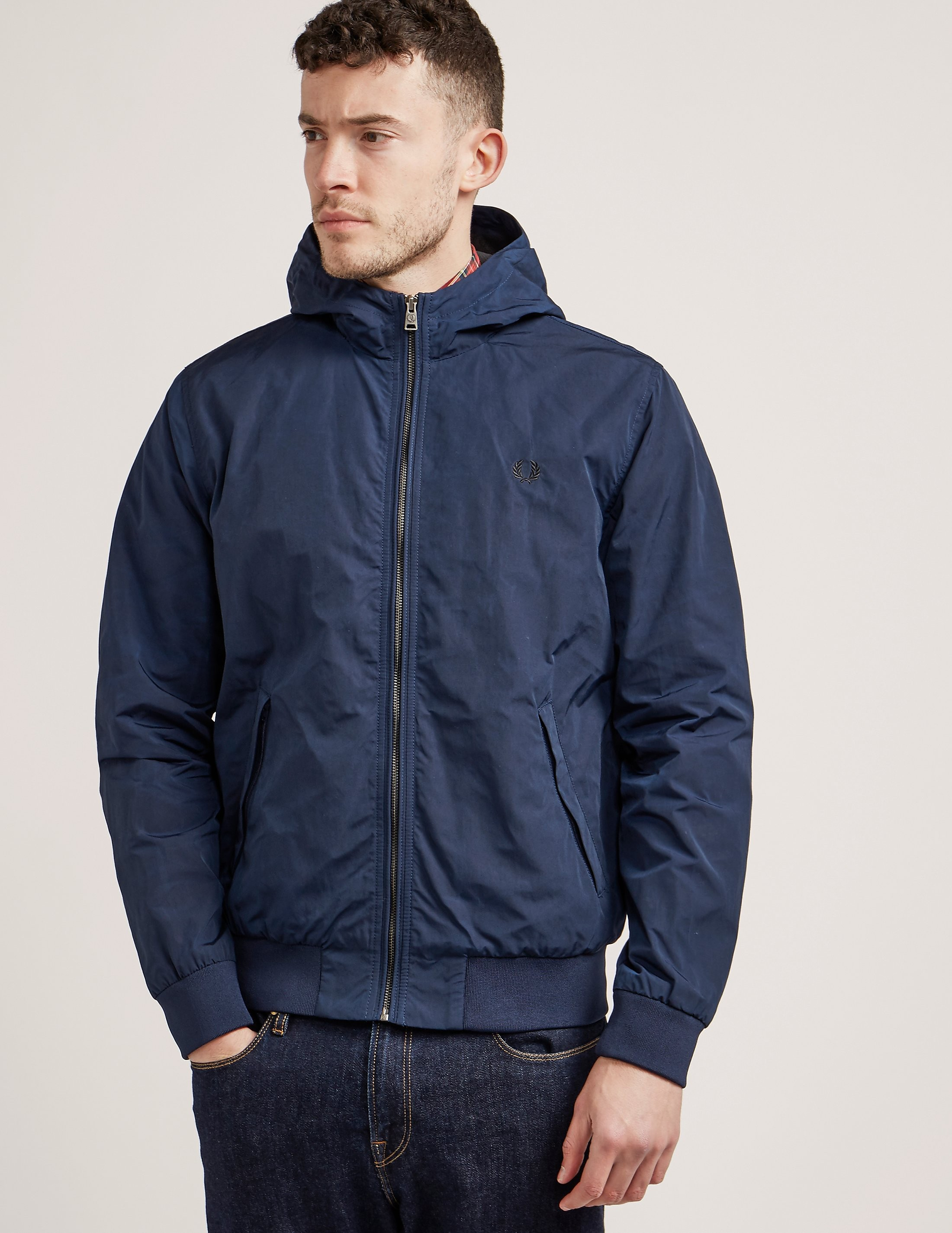 Fred Perry Tonic Hooded Brent Jacket