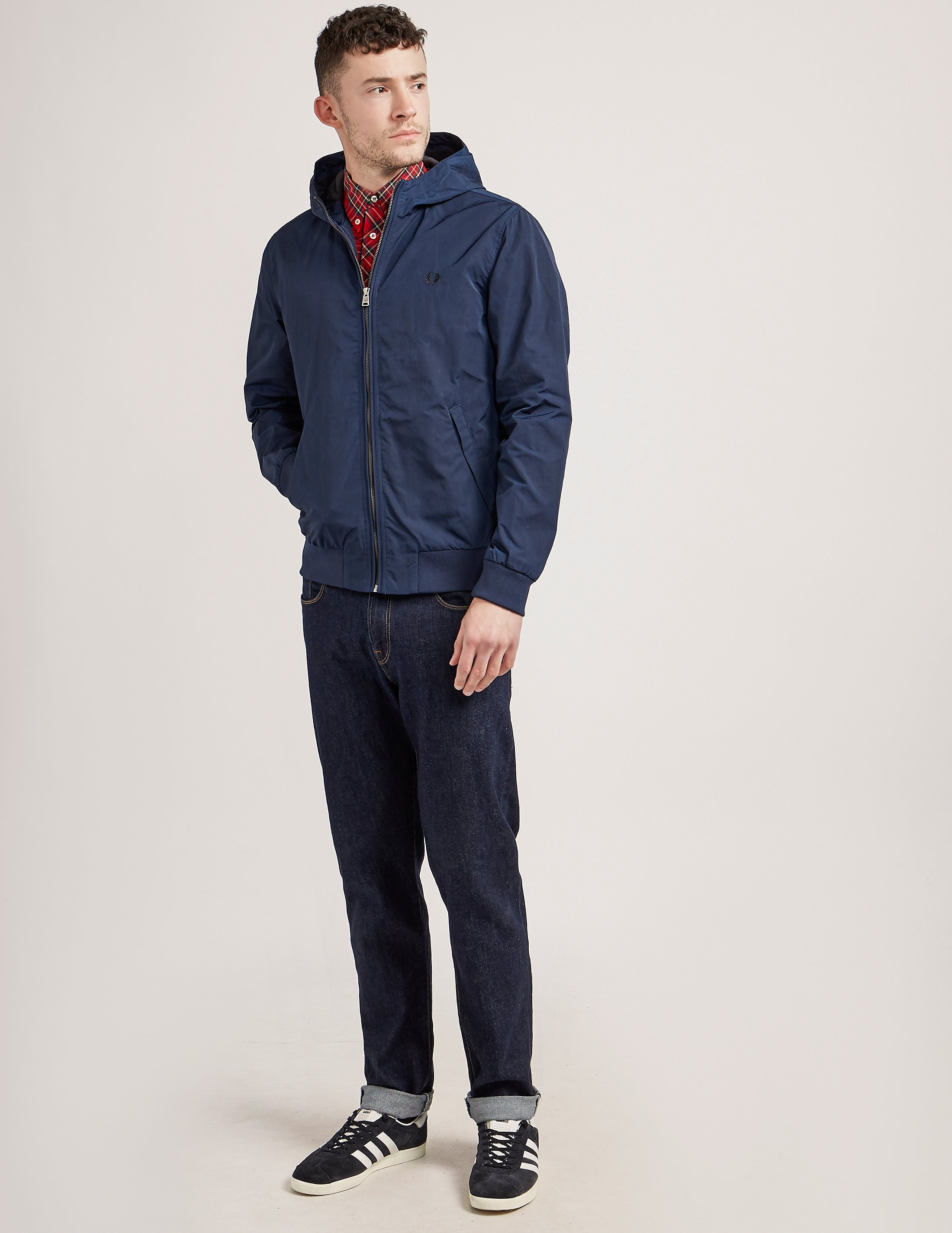 Fred Perry Tonic Lightweight Hooded Brent Jacket