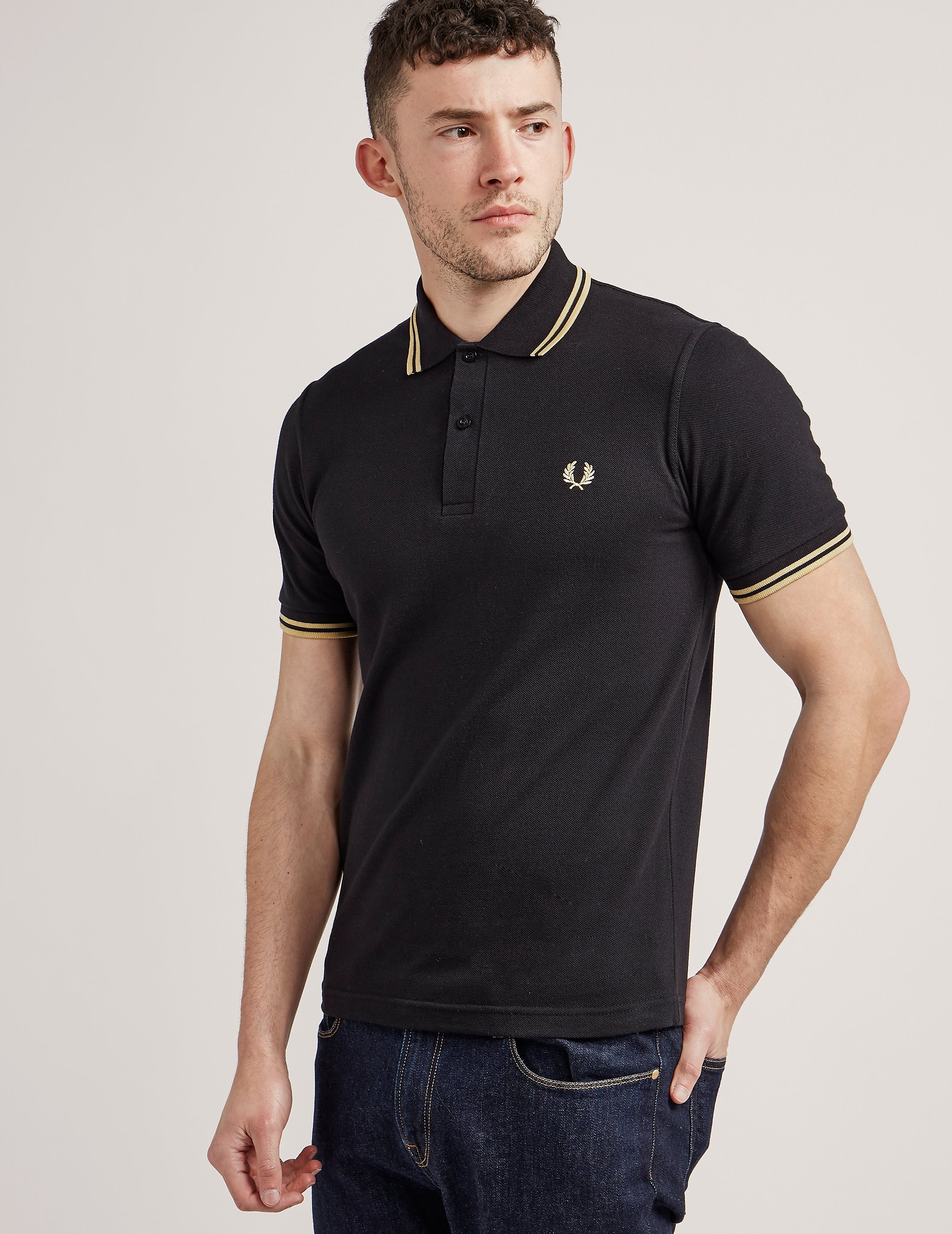 Fred Perry M12 Reissue Tipped Polo Shirt