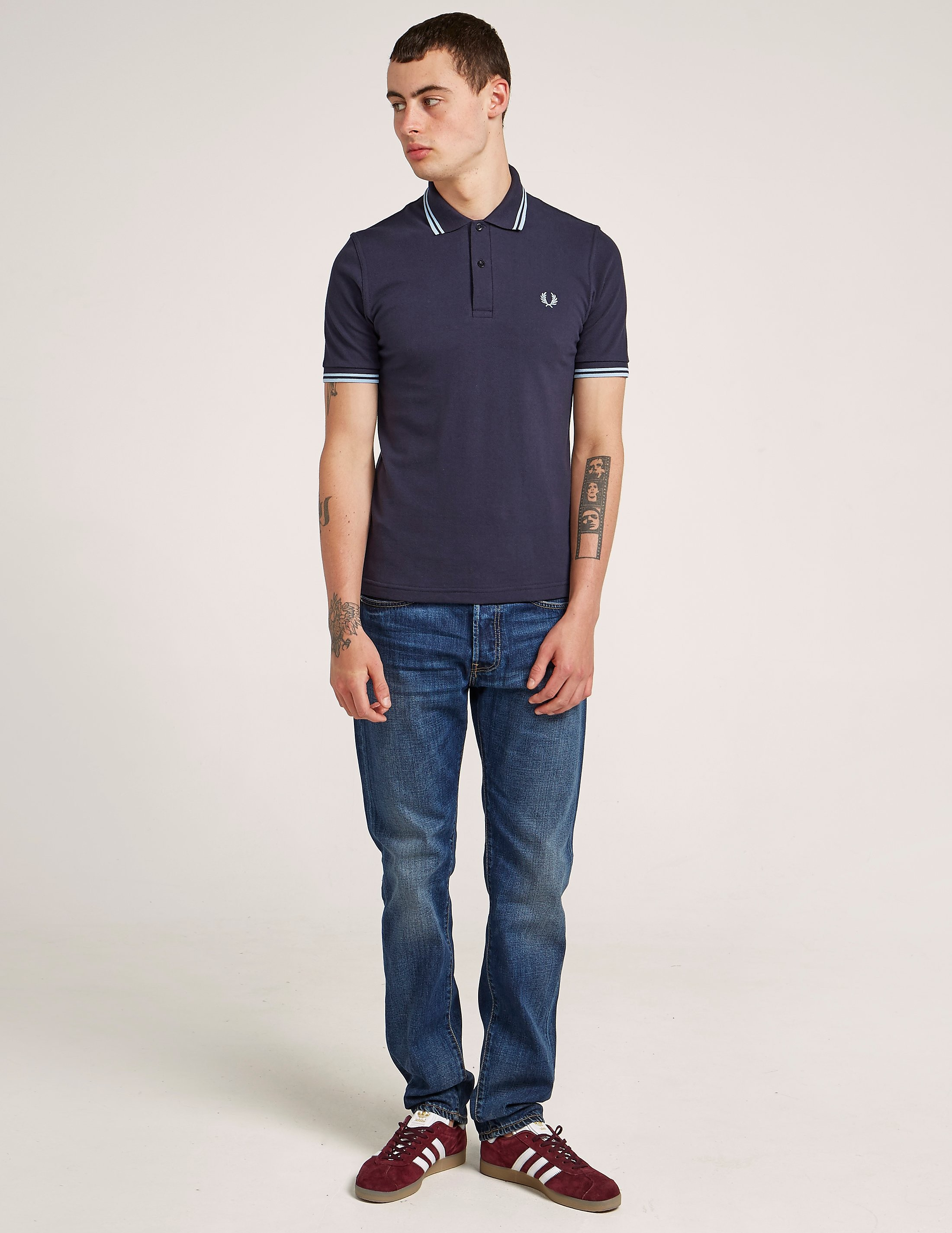 Fred Perry M12 Reissue Tipped Short Sleeve Polo Shirt