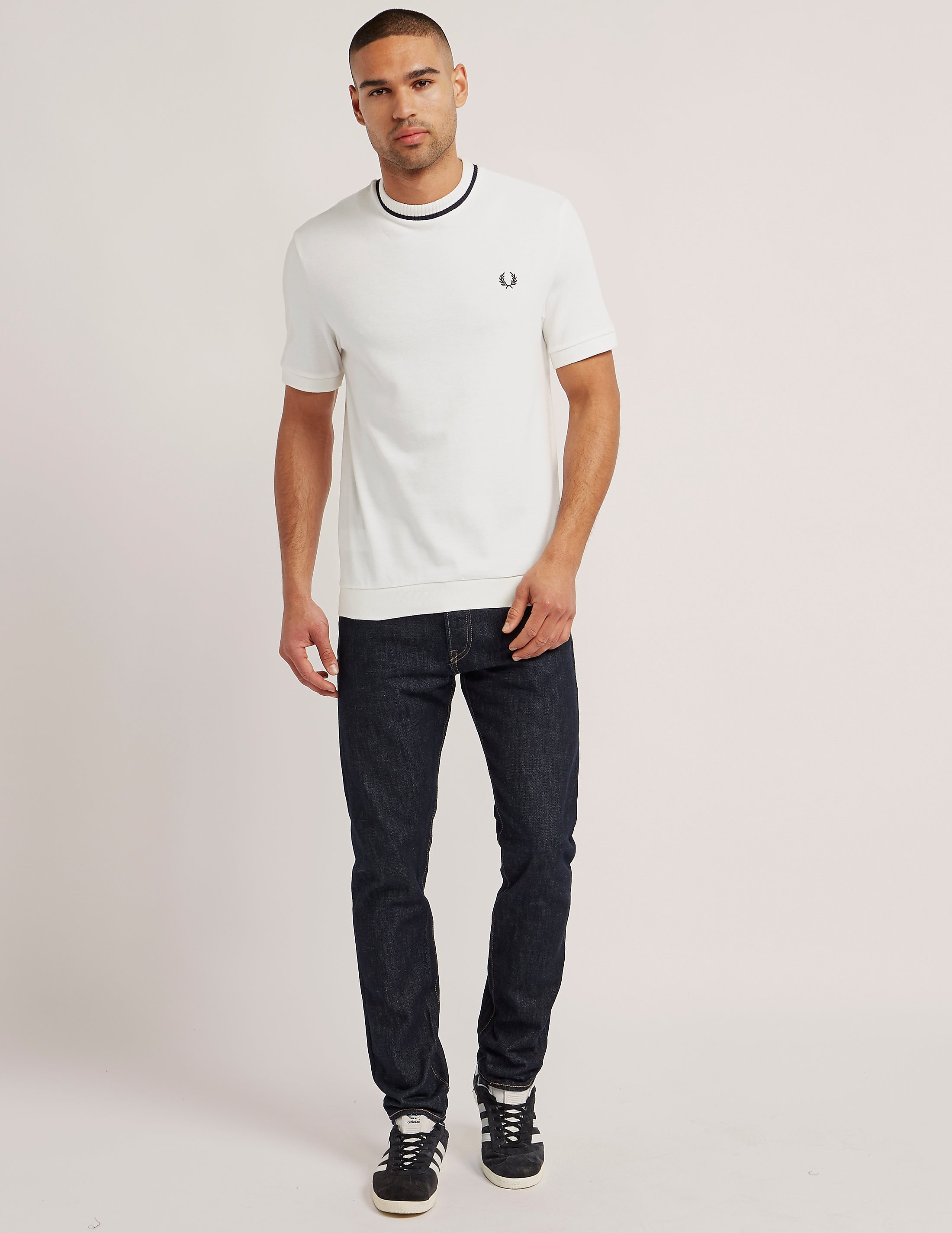 Fred Perry Crew Pique T-Shirt
