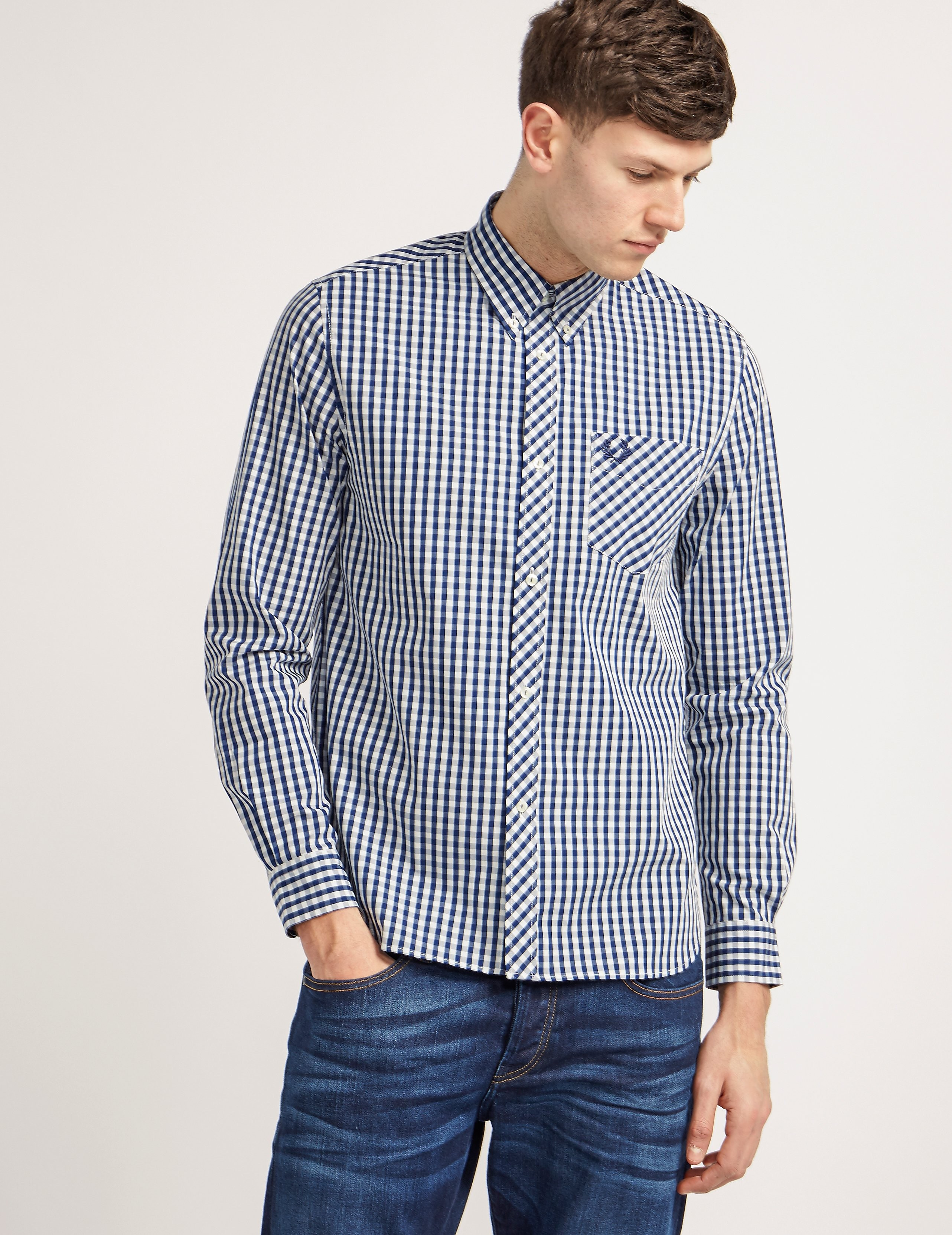 Fred Perry Reissue Gingham Shirt