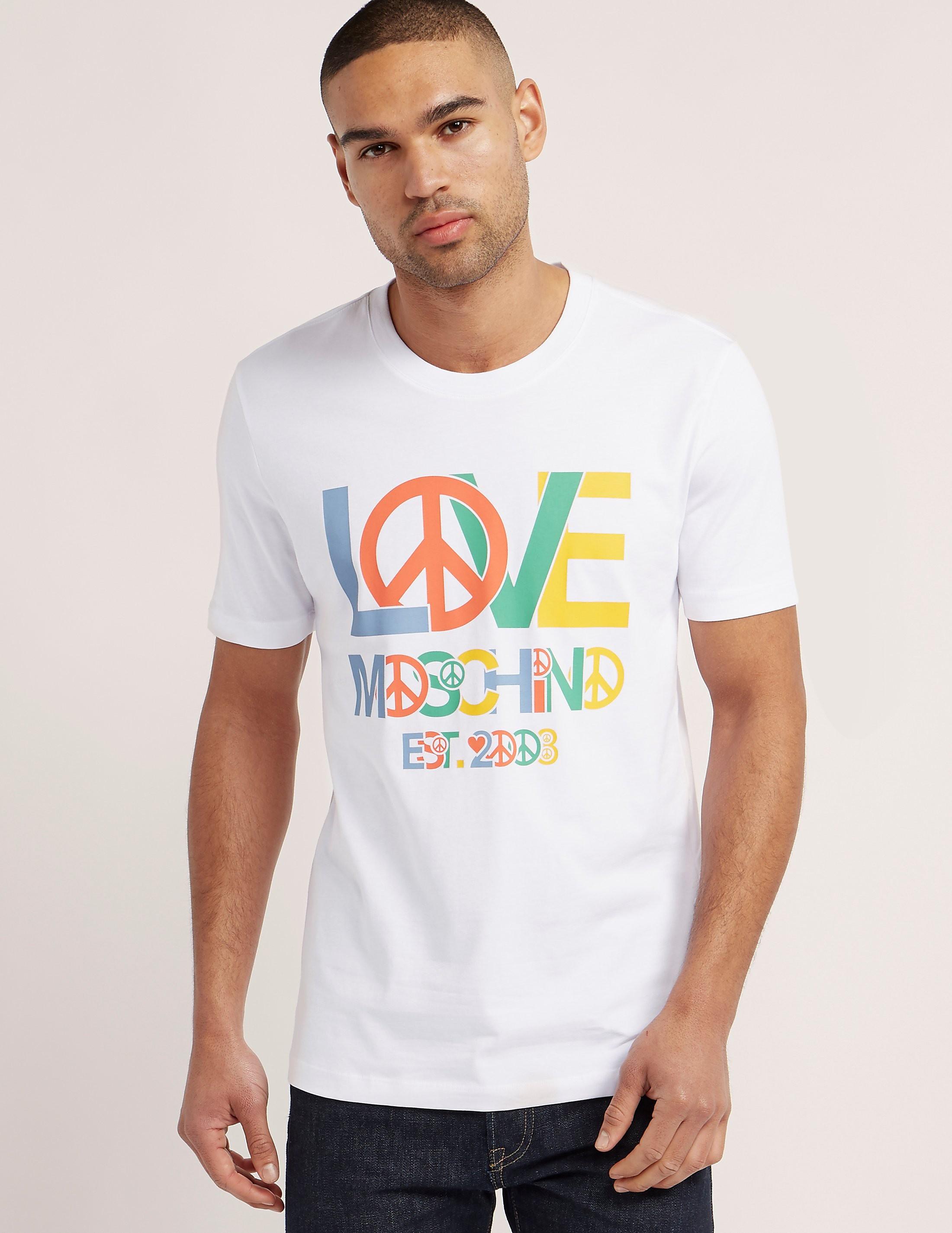 Love Moschino Logo Short Sleeve T-Shirt