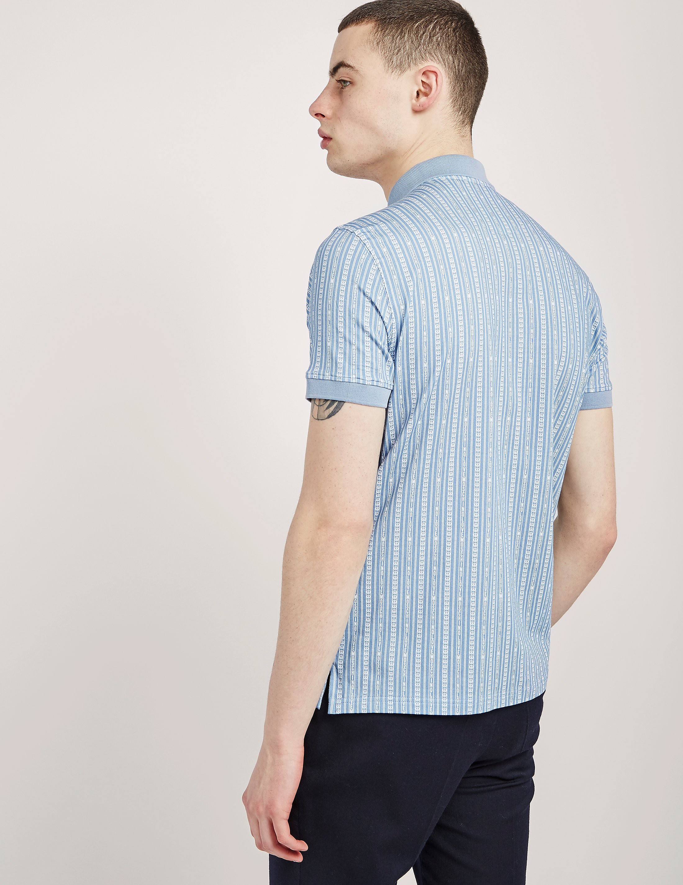 Love Moschino Short Sleeve Polo Shirt