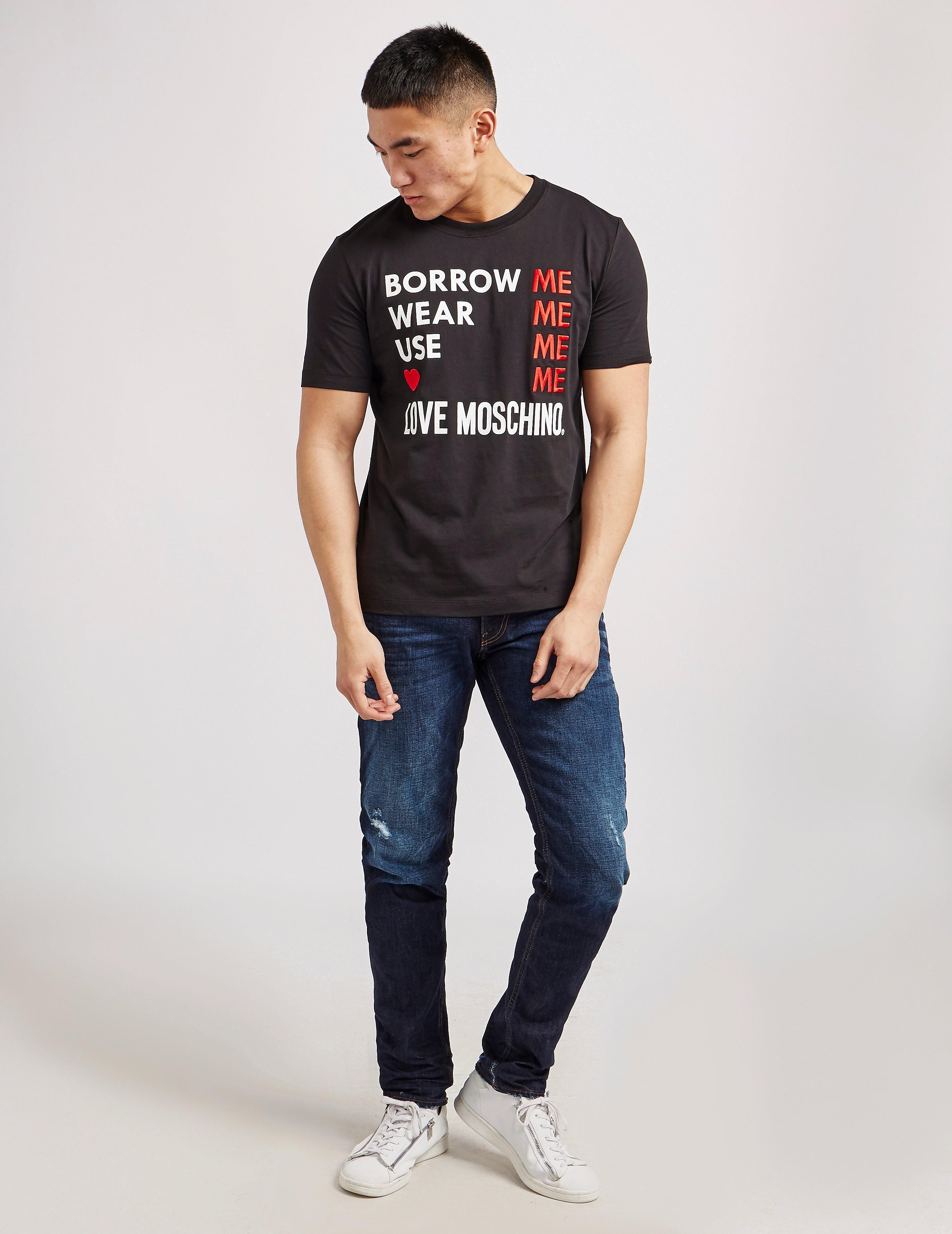 Love Moschino Slim Peace Jeans