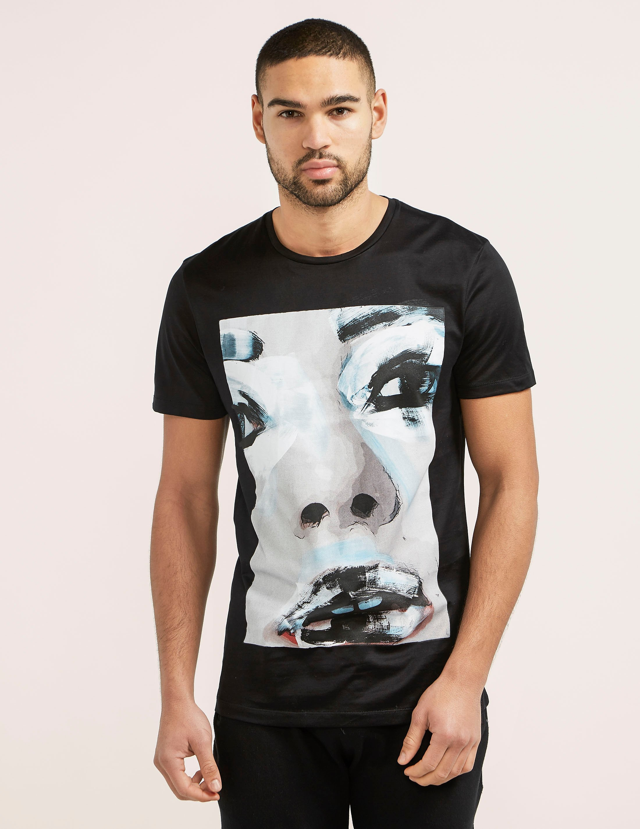 Antony Morato Portrait Short Sleeve T-Shirt