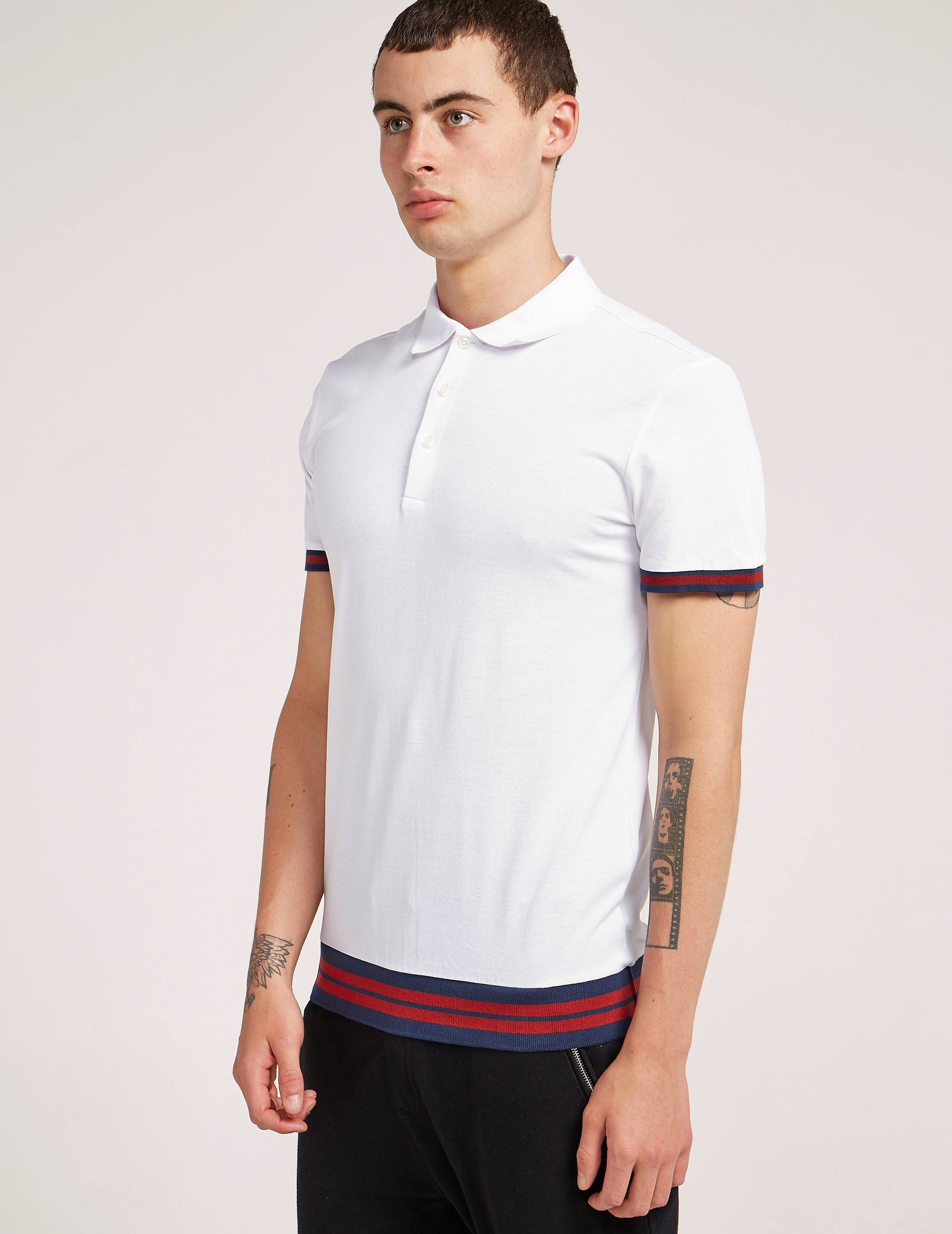 Antony Morato Tipped Short Sleeve Polo Shirt