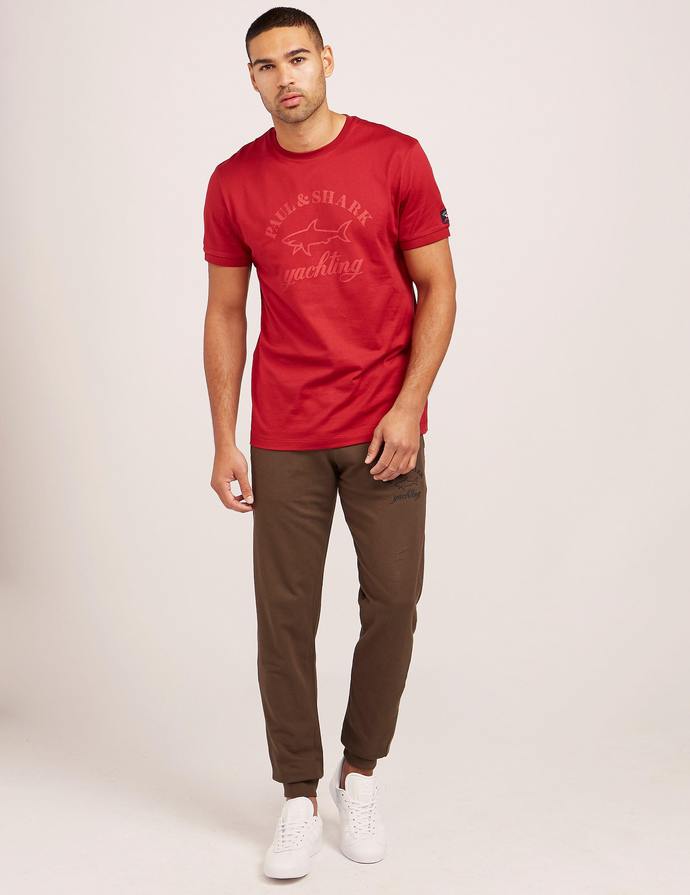 Paul and Shark Tonal Logo Short Sleeve T-Shirt