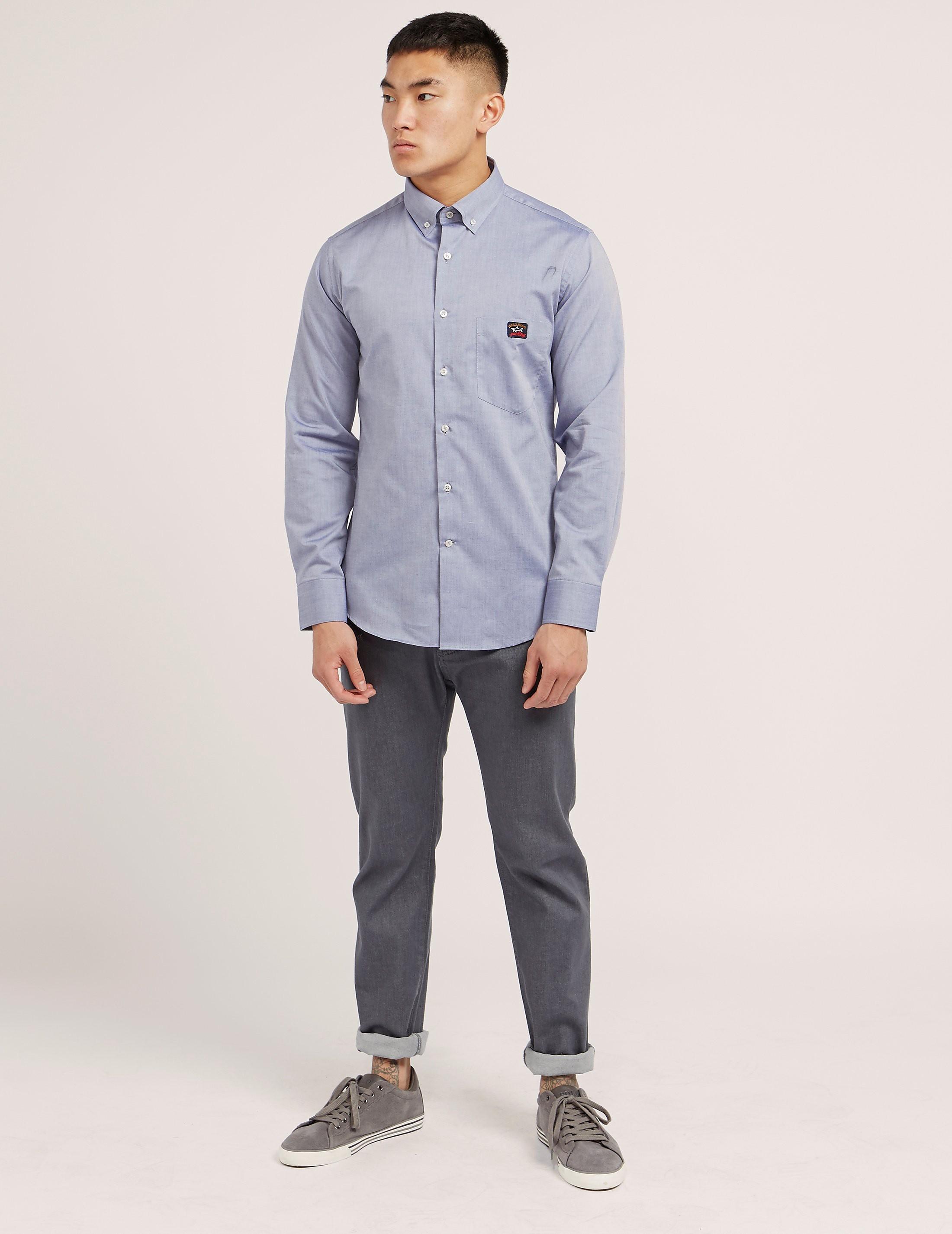 Paul and Shark Oxford Long Sleeve Shirt