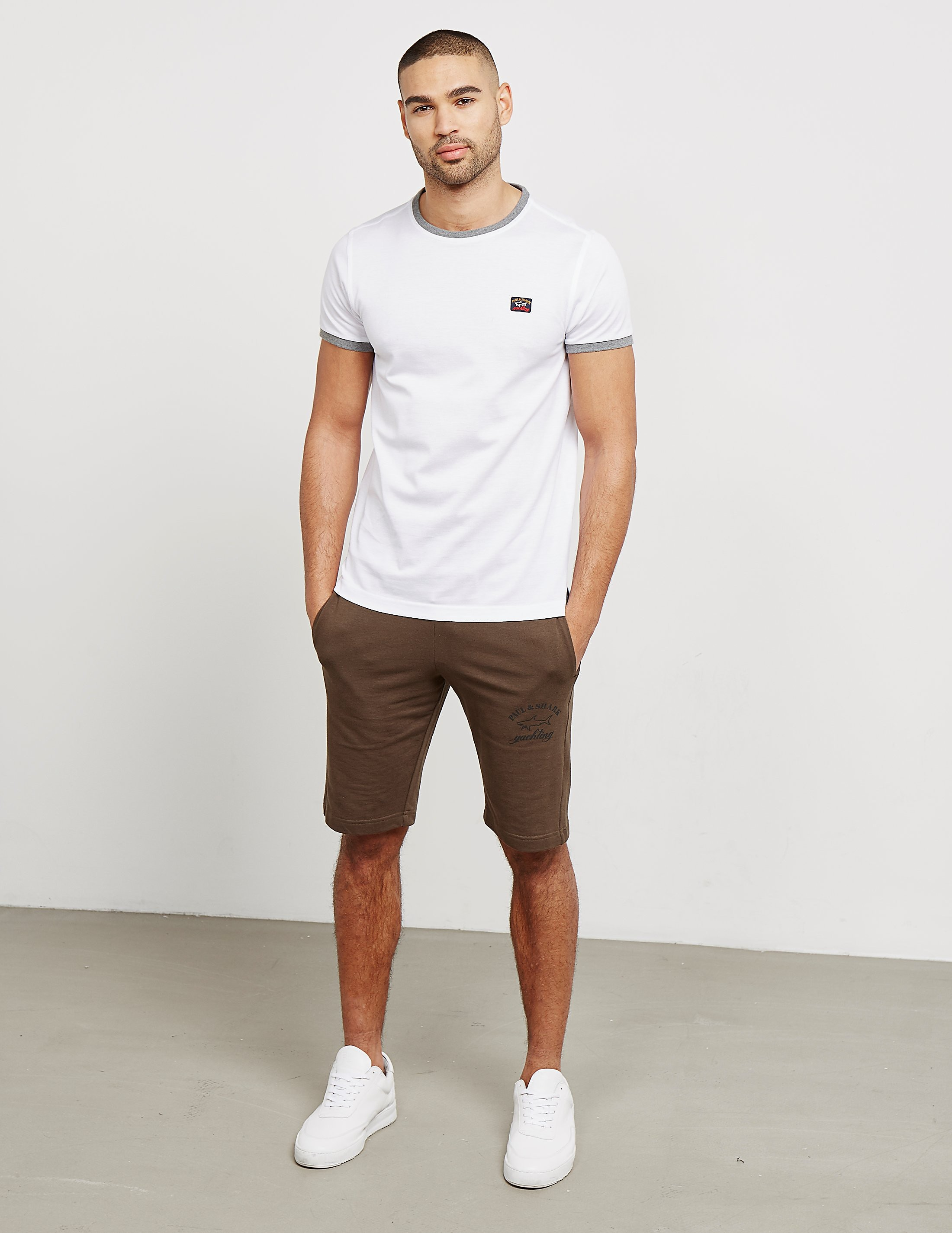 Paul and Shark Ringer Short Sleeve T-Shirt - Exclusive