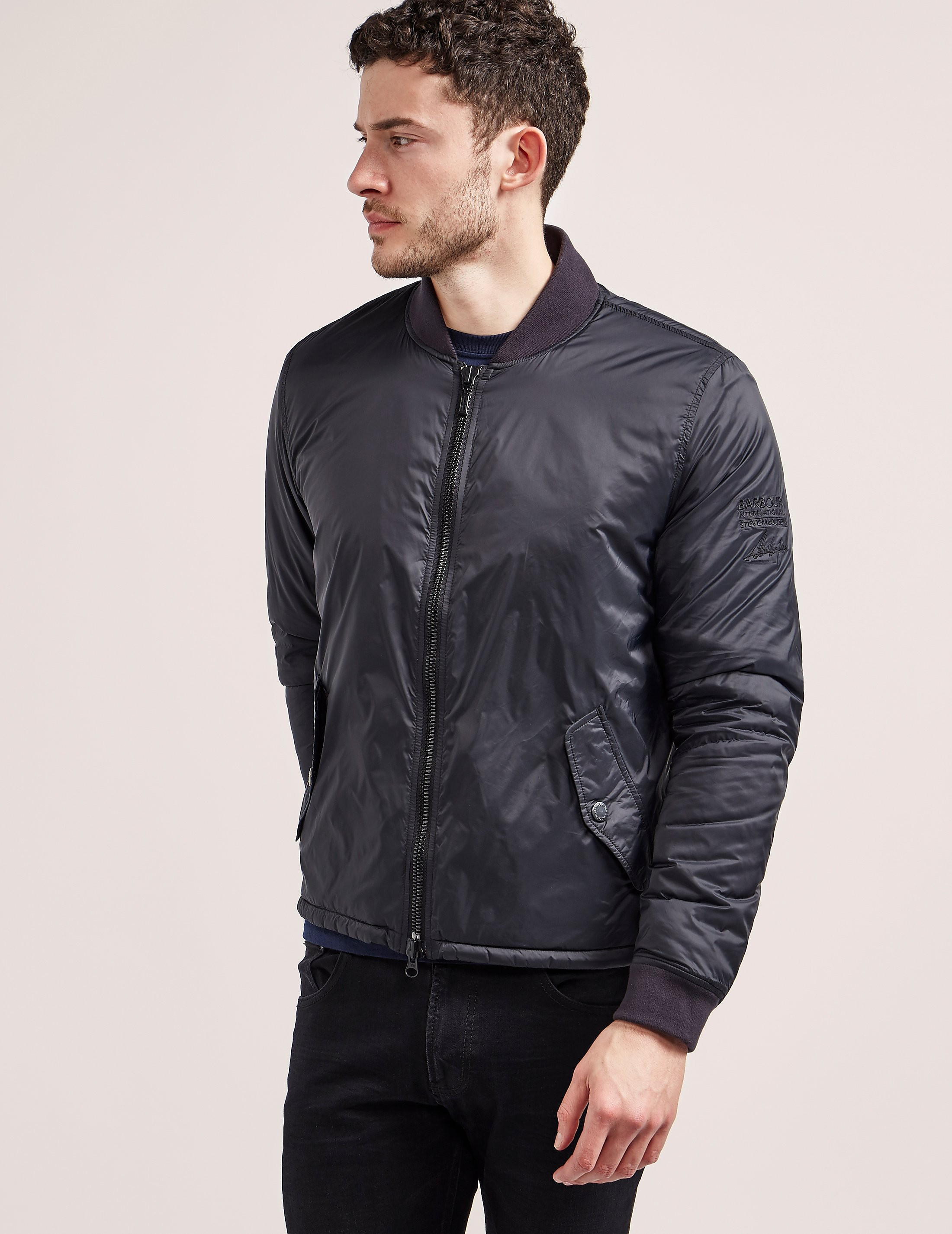 Barbour International Steve Mc Queen Bomber
