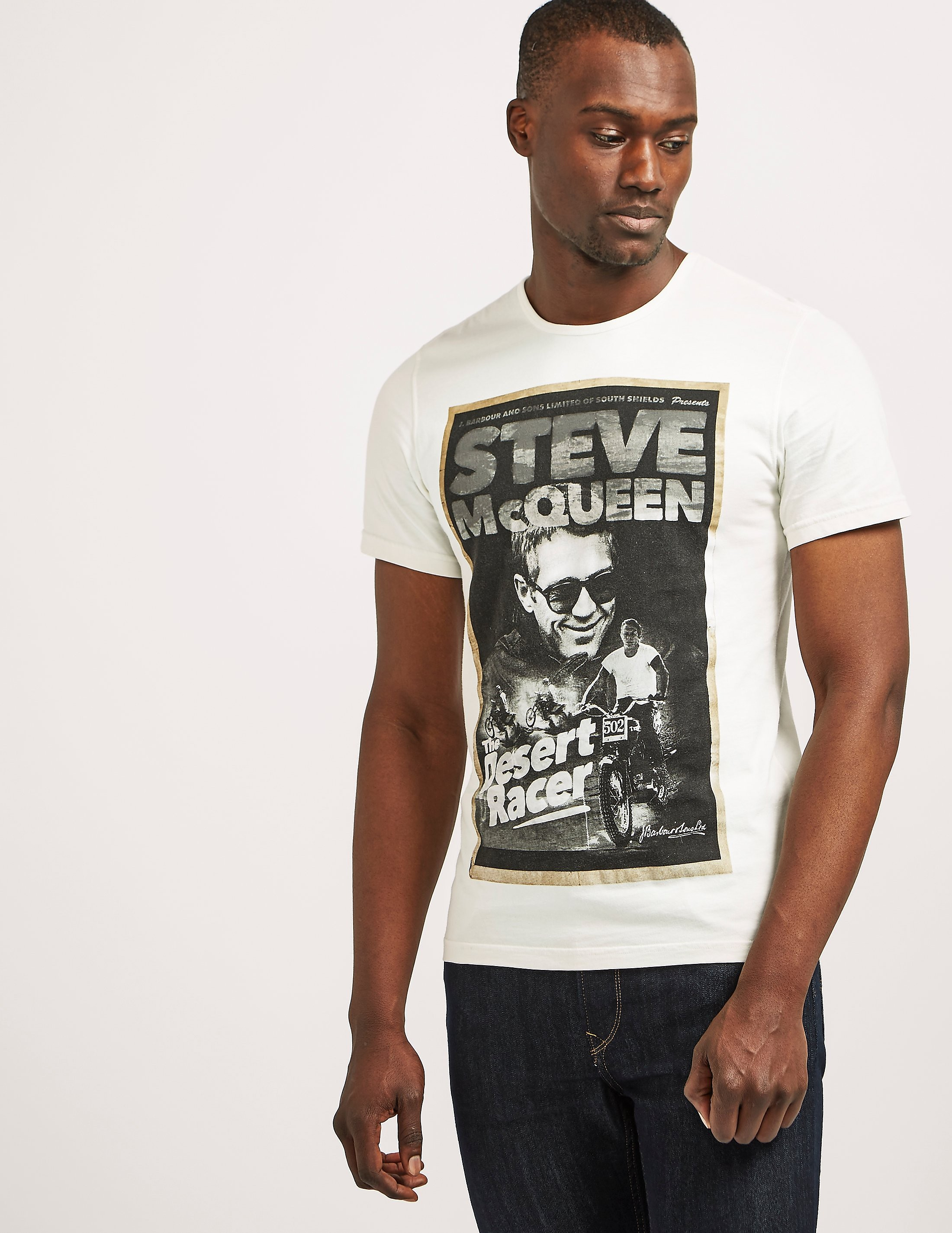 Barbour Steve McQueen Desert T-Shirt
