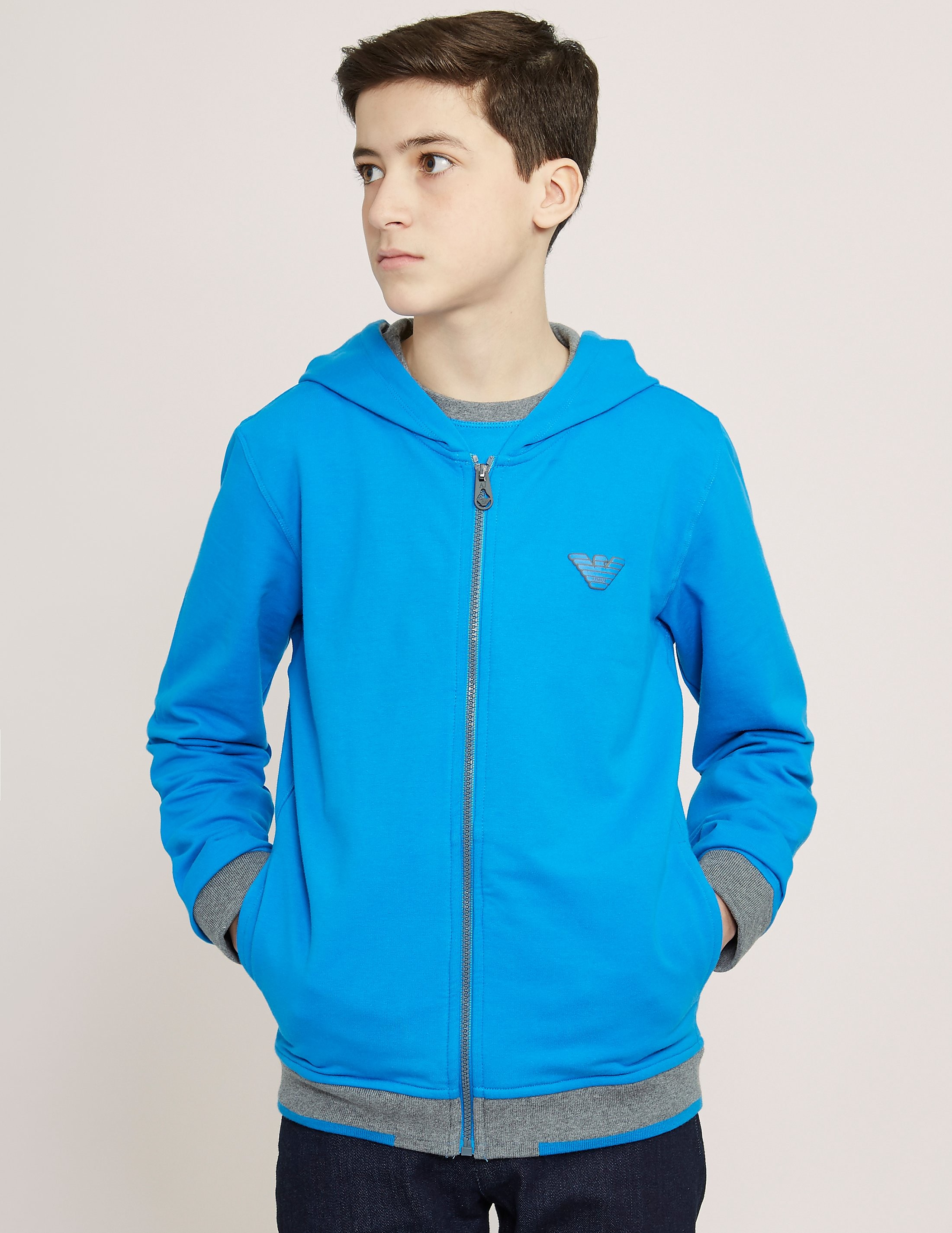 Armani Jeans Zip Up Hoody
