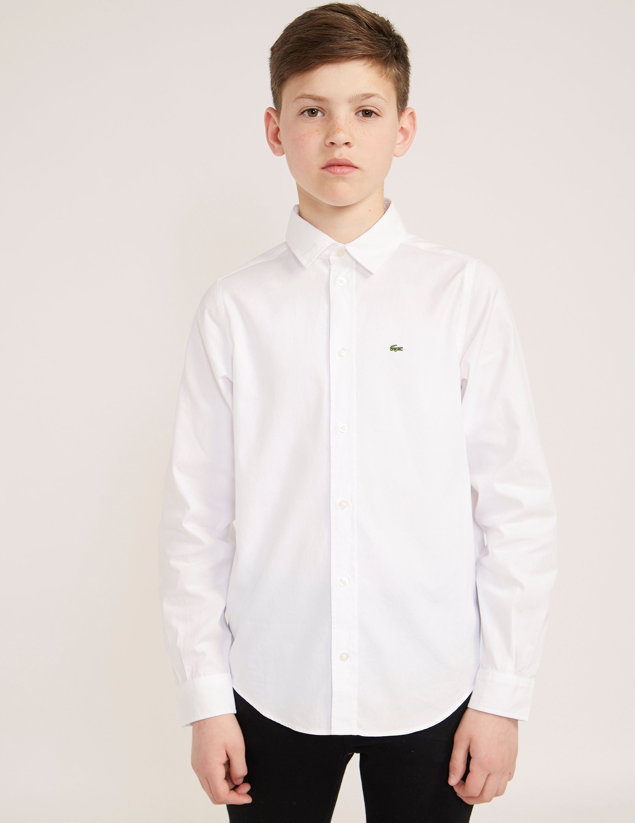 Lacoste Long Sleeve Oxford Shirt