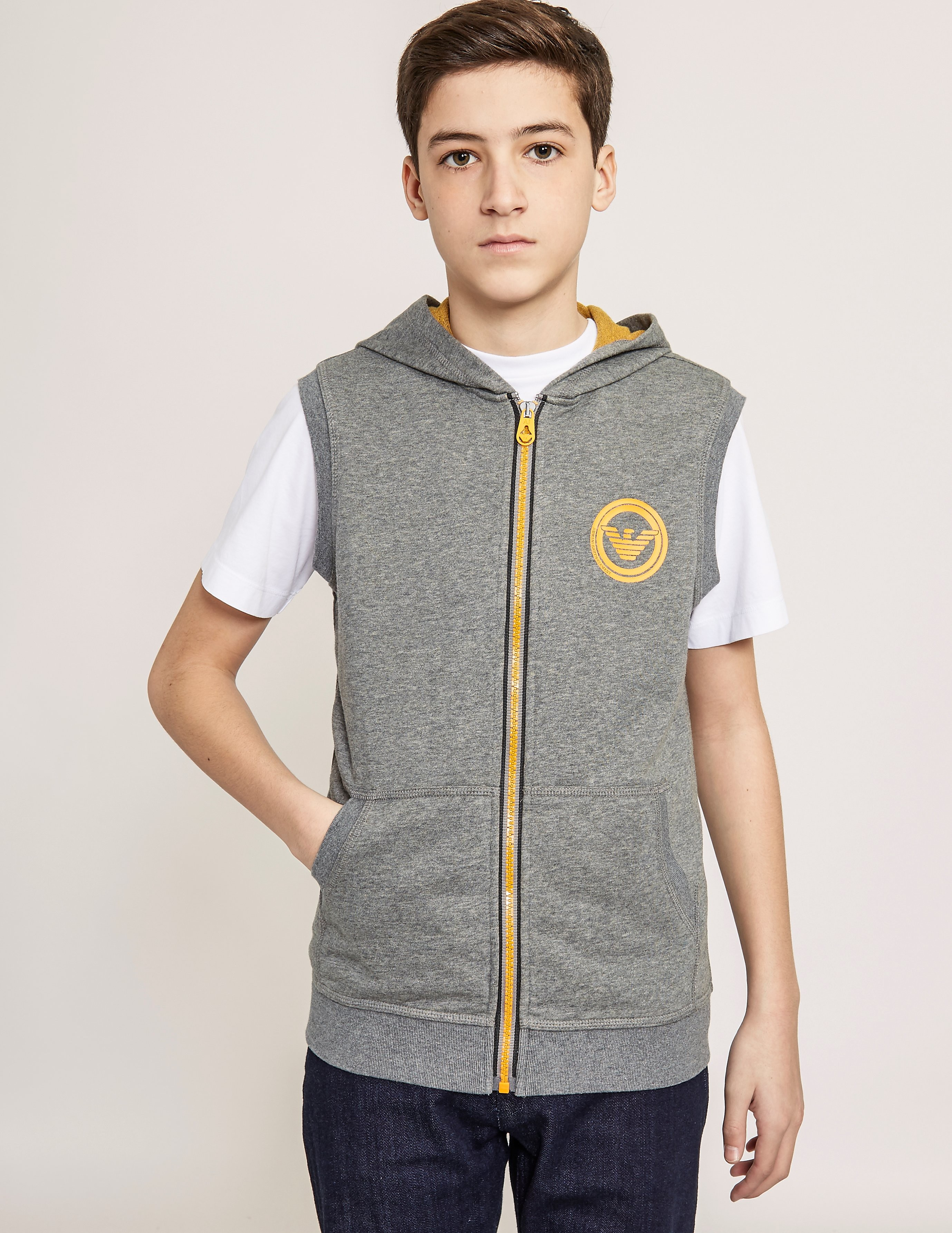 Armani Jeans Hooded Gilet
