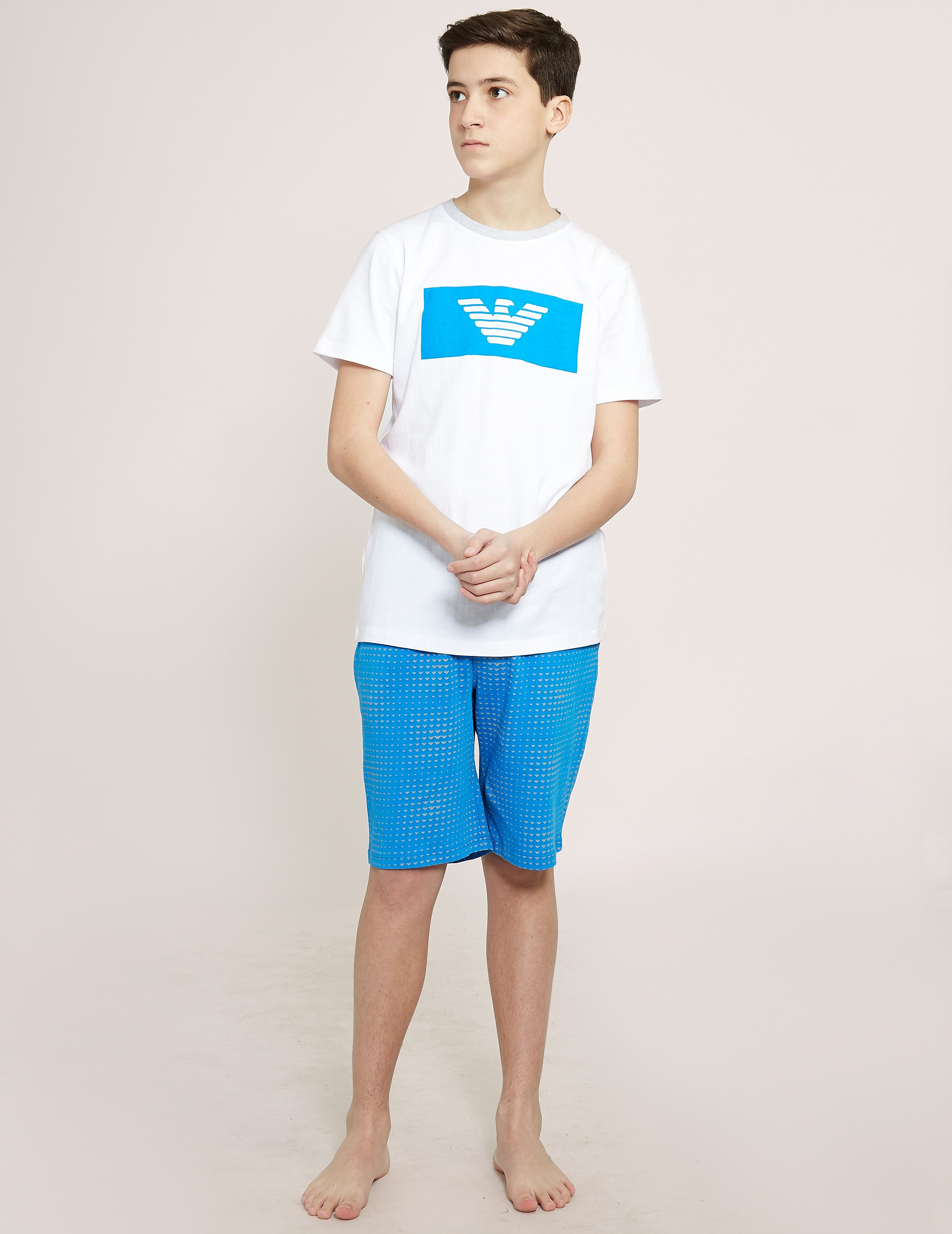 Armani Jeans T-Shirt & Short Set
