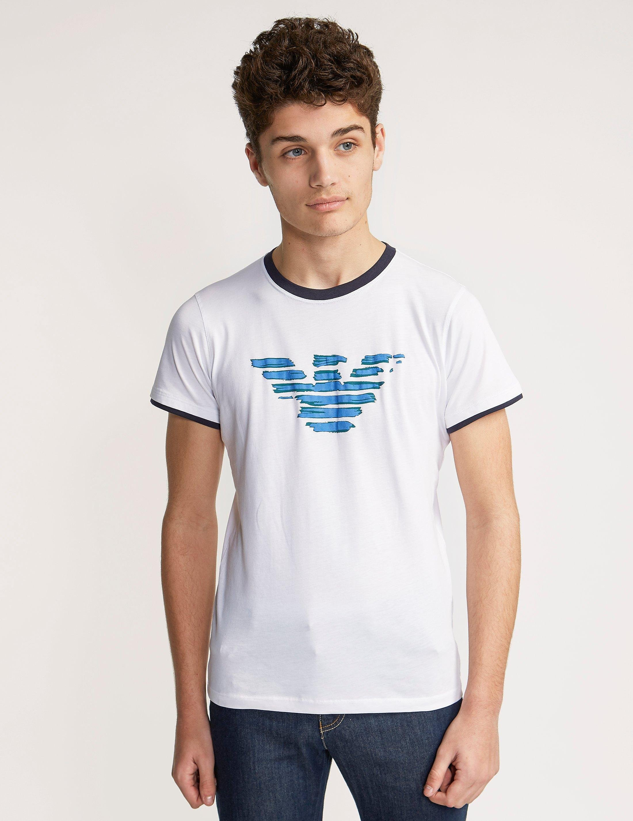 Armani Jeans Eagle Short Sleeve T-Shirt