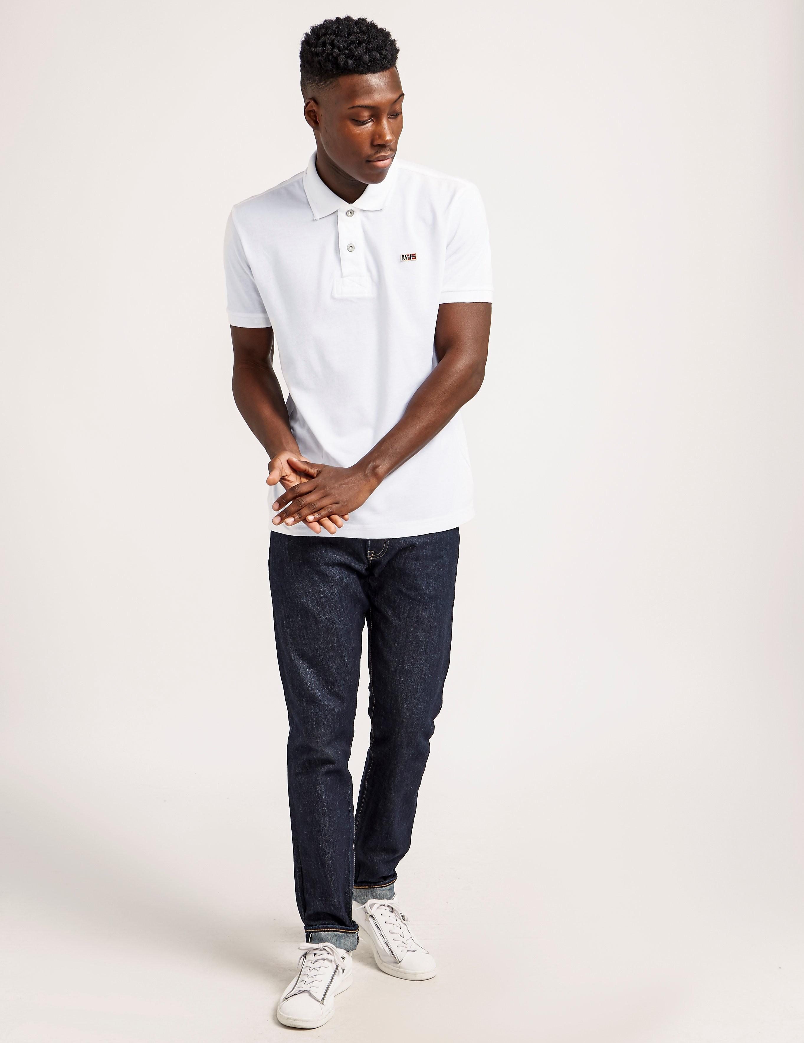 Napapijri Short Sleeve Polo Shirt