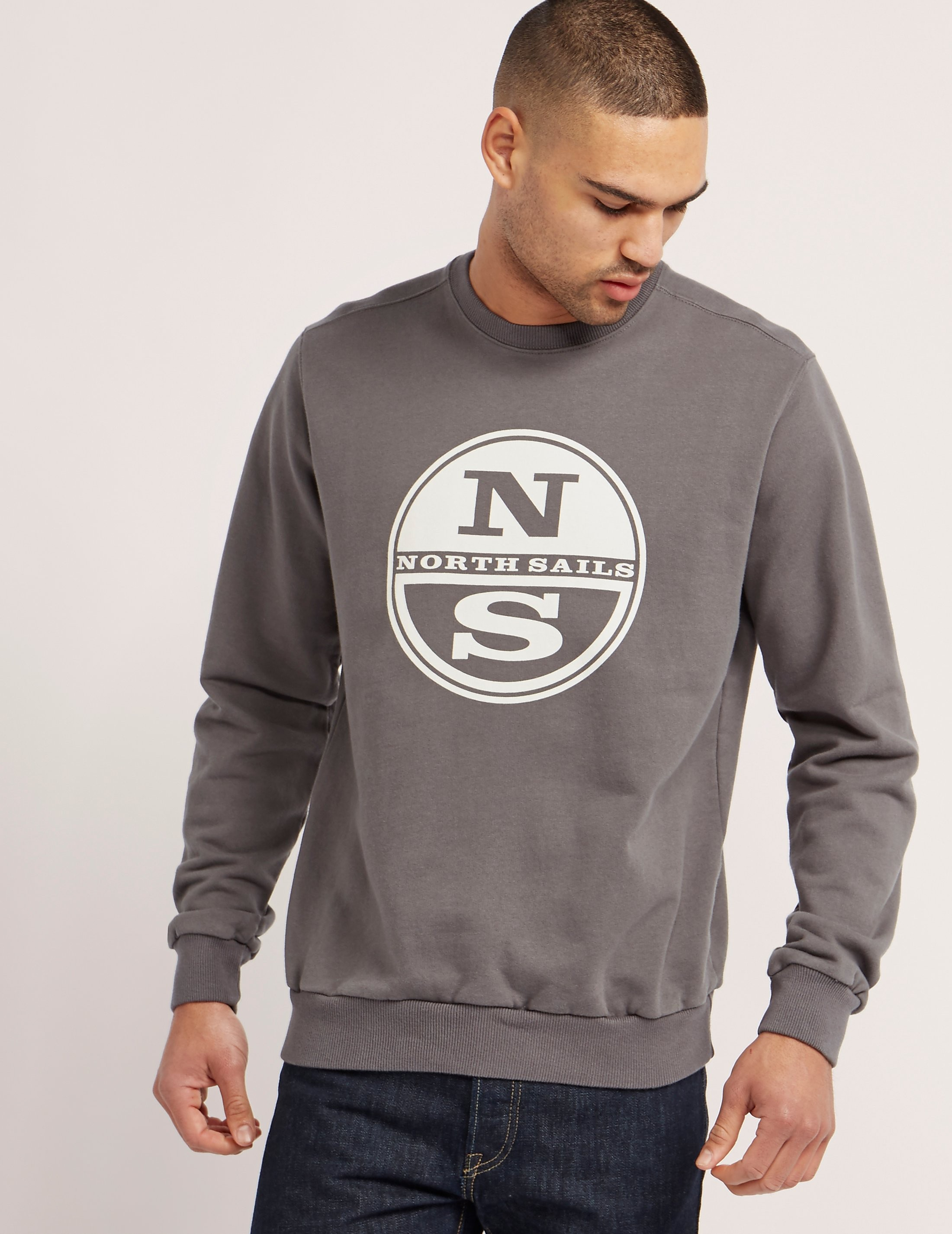 NORTH SAILS Logo Crew Sweatshirt