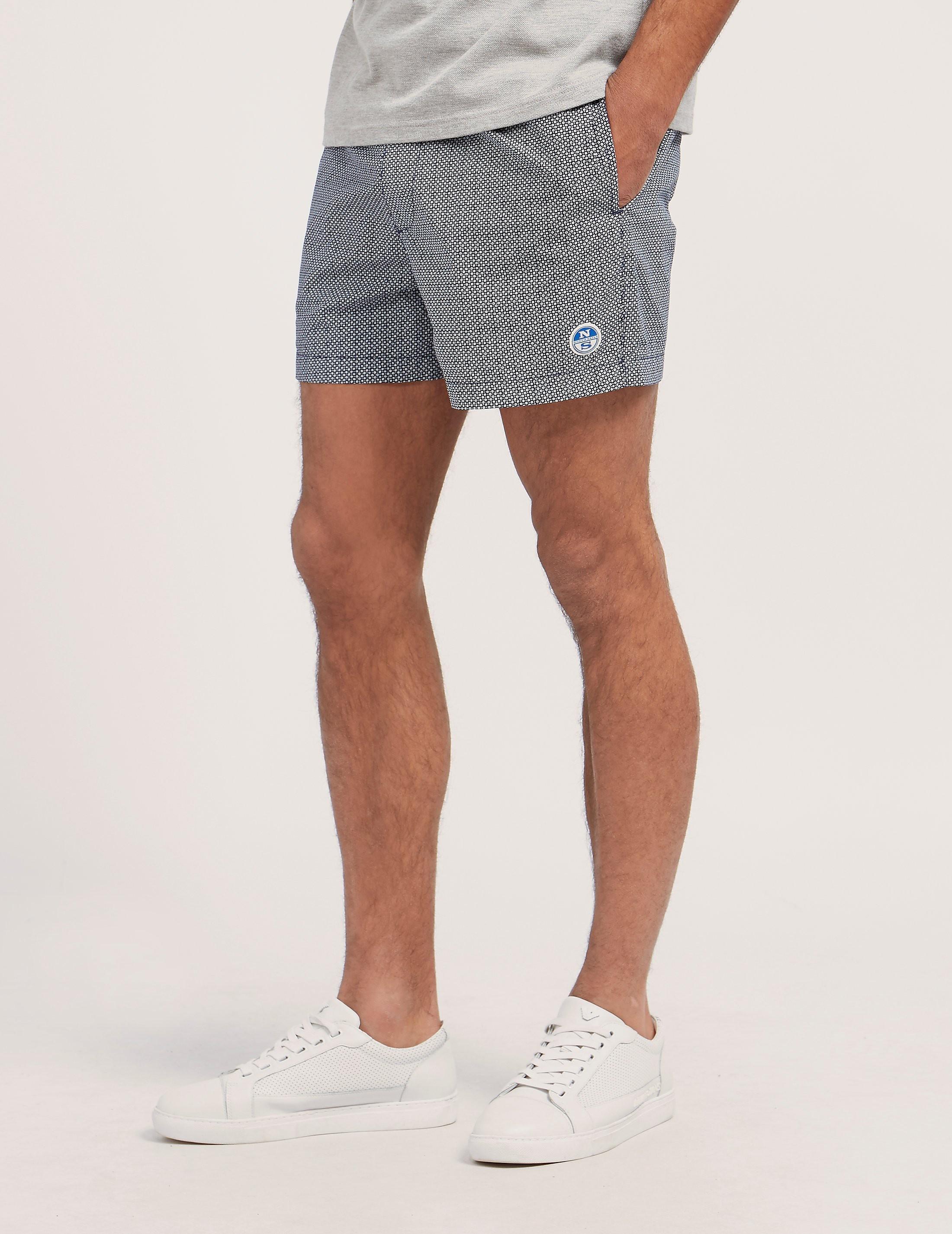 NORTH SAILS AOP Print Swim Shorts