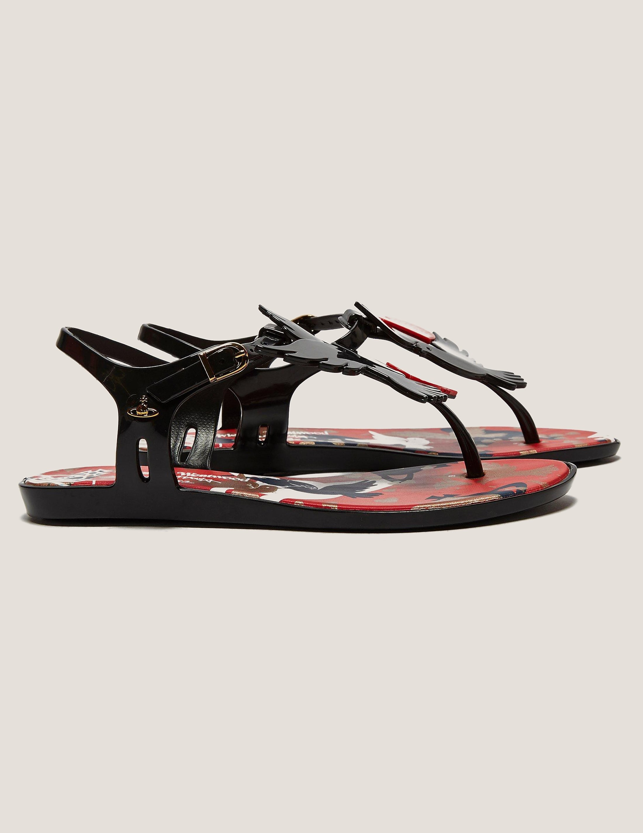 Melissa Solar Dove Sandals