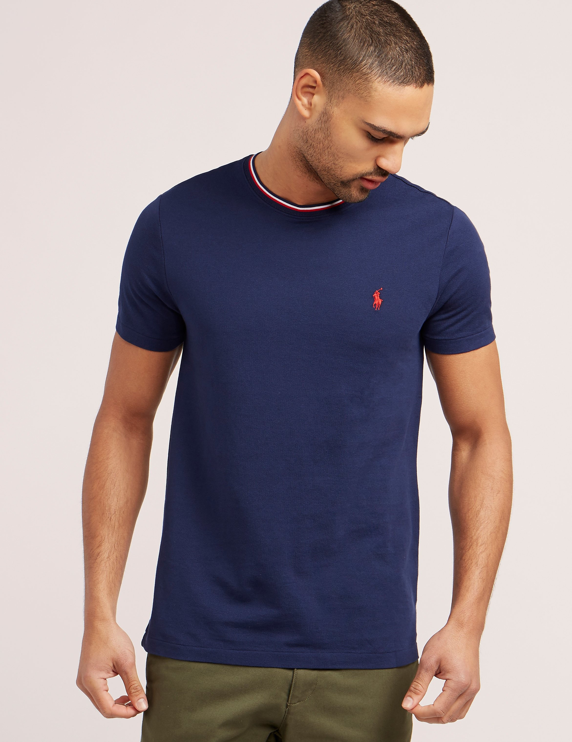 Polo Ralph Lauren Tipped Short Sleeve T-Shirt