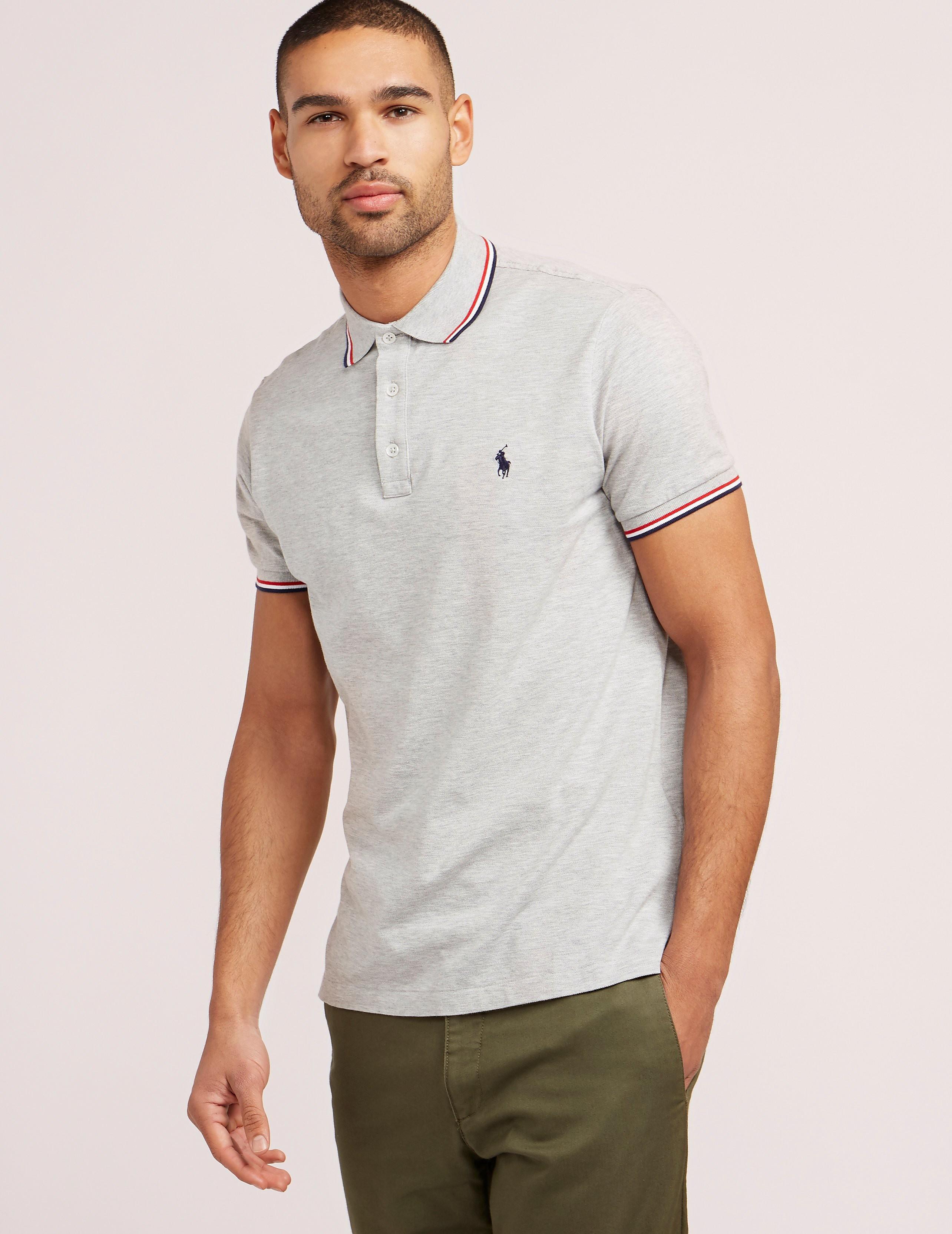 Polo Ralph Lauren Tipped Short Sleeve Polo Shirt